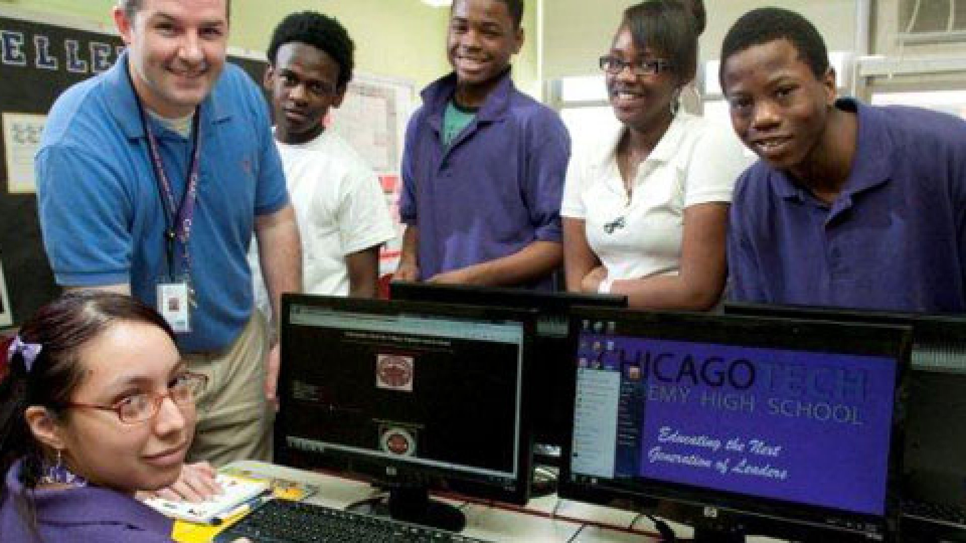 Chicago's Tech Academy is famous for it's entrepreneurial and tech heavy curriculum which partners with more than 100 tech companies to provide field trips and mentorship.
