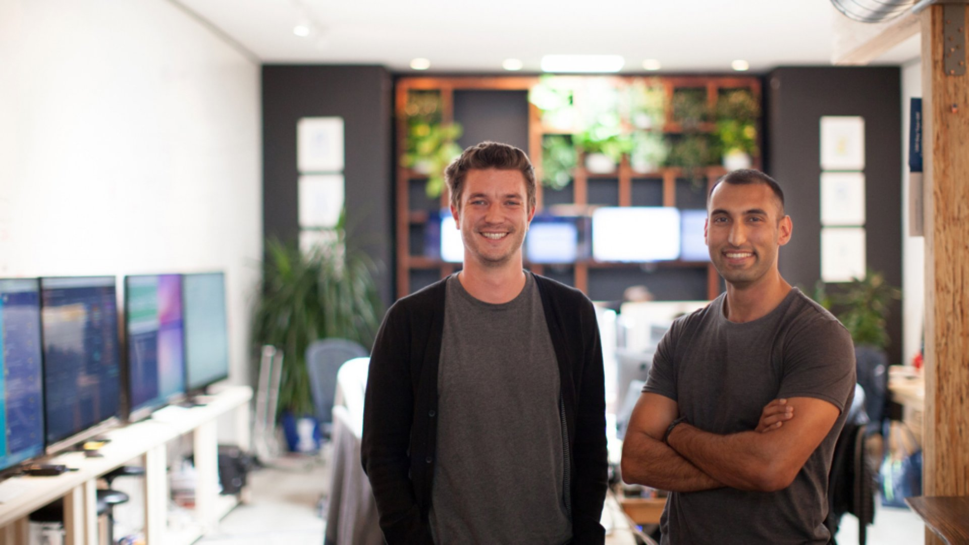 ClassDojo Co-founders Liam Don (left) and Sam Chaudhary have reached millions of teachers with their app. Now, they are beginning to think about monetization.