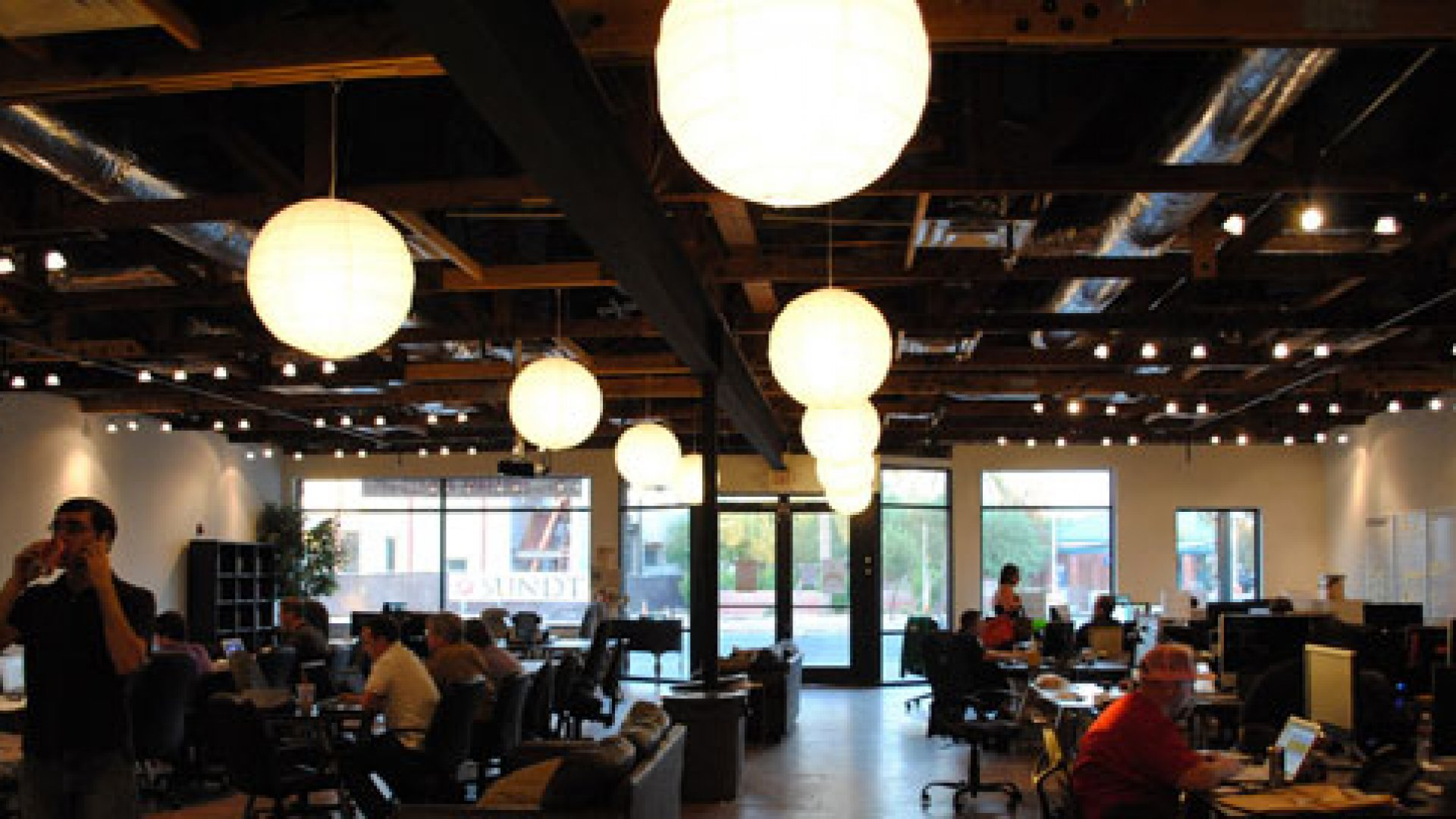 Gangplank co-working space in Chandler, Arizona.