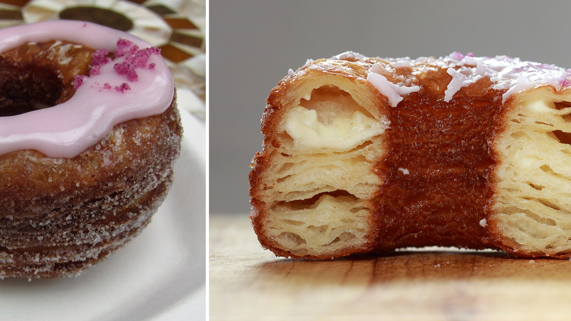 Limited editions: Cronuts, the hybrid donut-croissant, are made in daily batches of 200 by Dominique Ansel bakery in New York. They sell out in minutes.