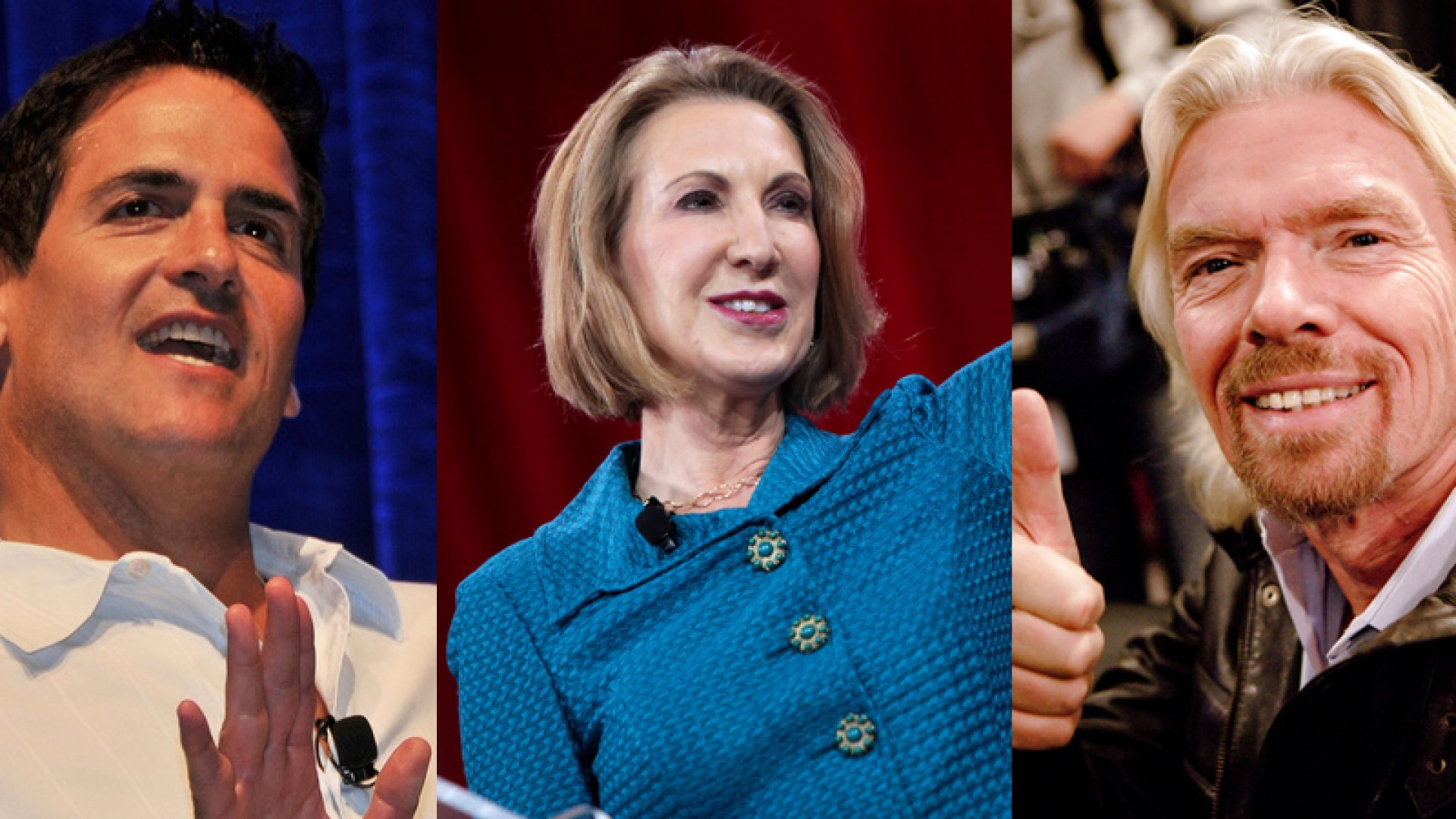 How Much Mark Cuban, Carly Fiorina, and Richard Branson Make in Speaking Fees