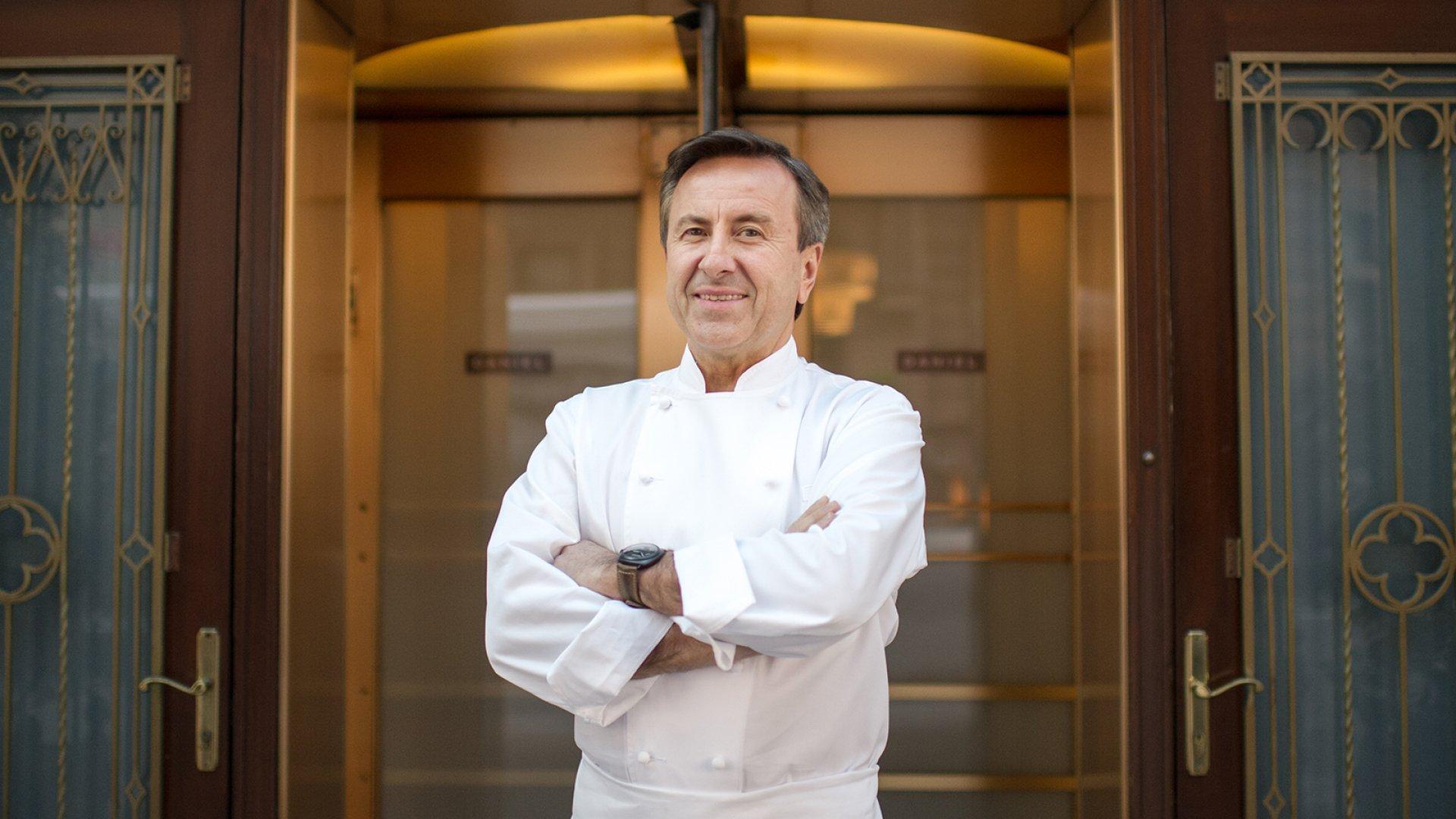 French Culinary Chef Daniel Boulud.