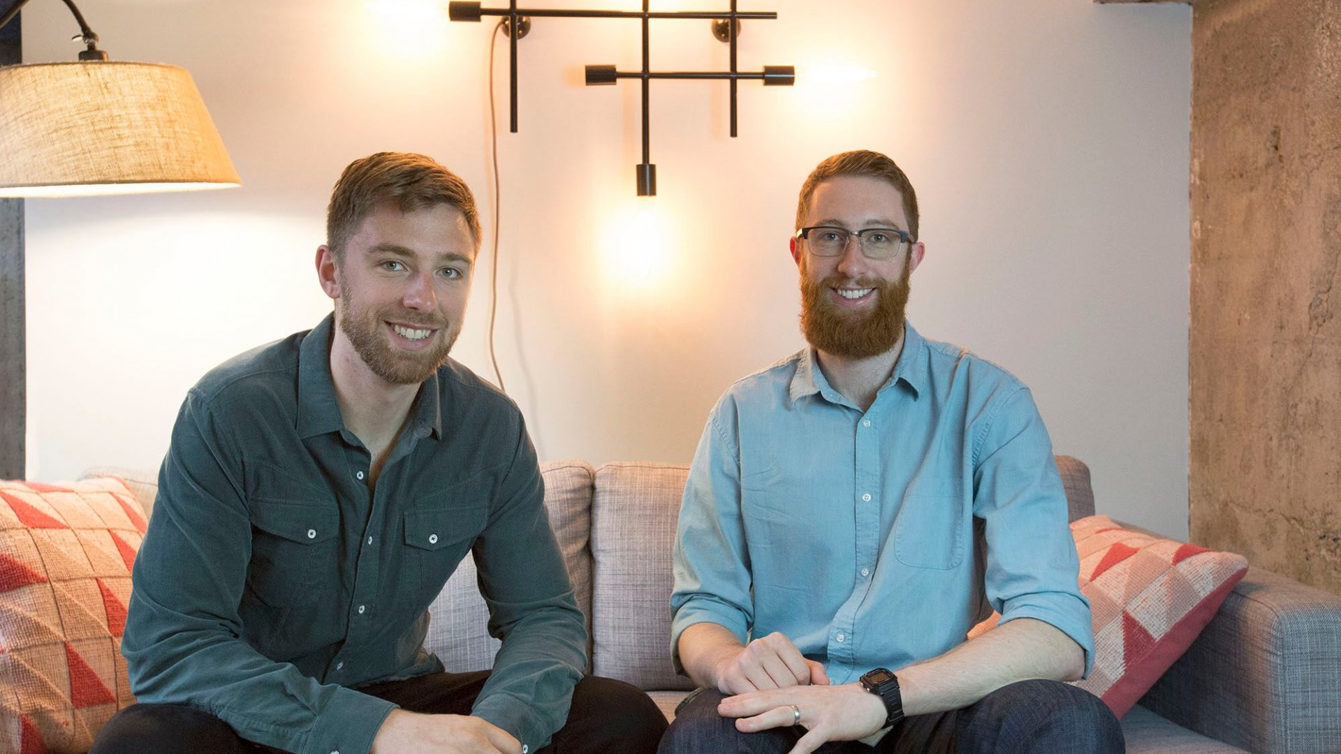Dave Evans, left, and brother Nate Evans are the  founders behind Fictiv, a San Francisco startup that connects entrepreneurs to a network of manufacturing machinery they can use to order prototype parts.