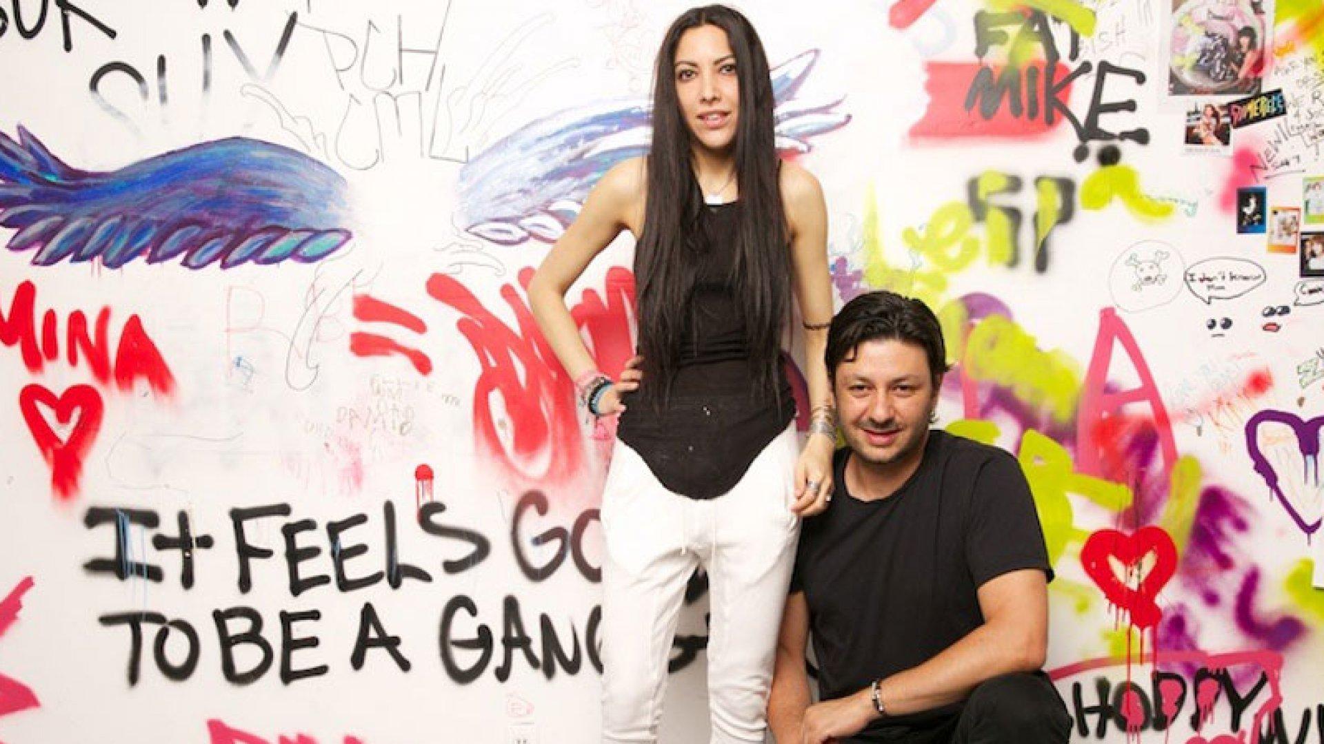 Dolls Kill founders Shaudi Lynn and Bobby Farahi