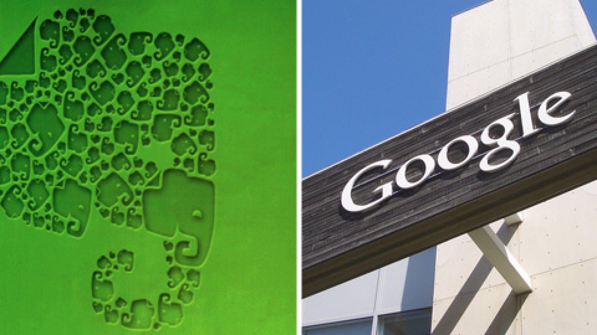 Review: Google Keep vs. Evernote