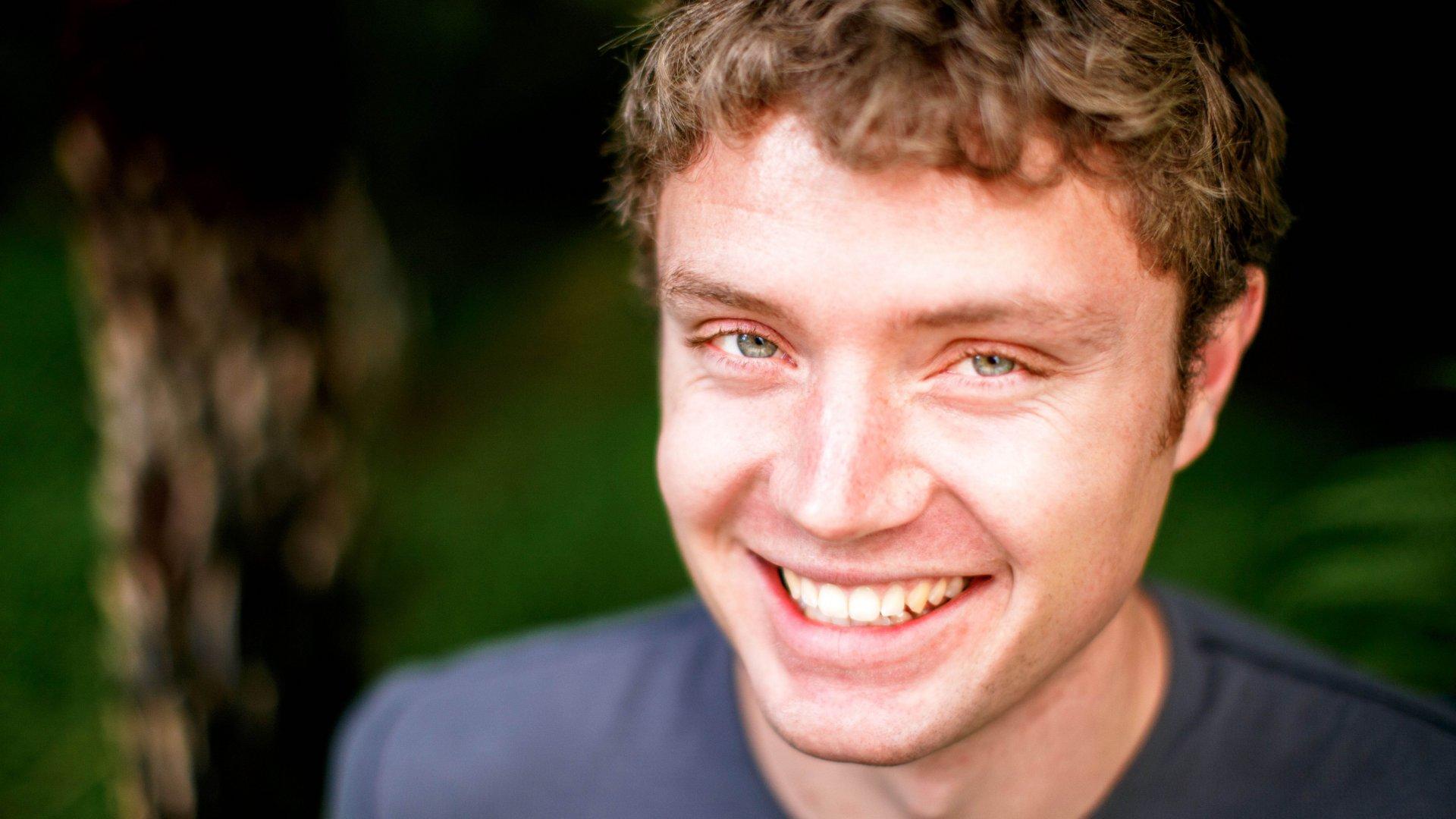 Author Eliot Peper.