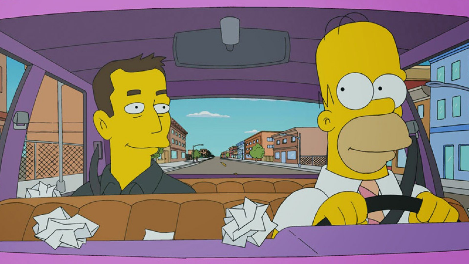 Elon Musk Has a Blast Riffing on 'The Simpsons'