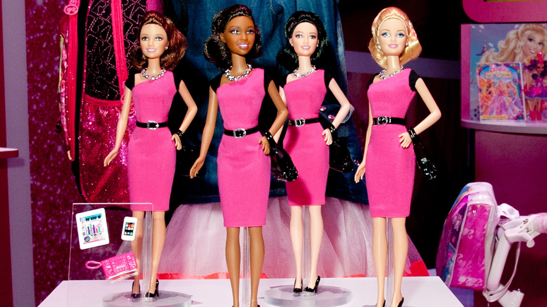 Newest Barbie Is an Entrepreneur With a Tiny Tablet and Smartphone