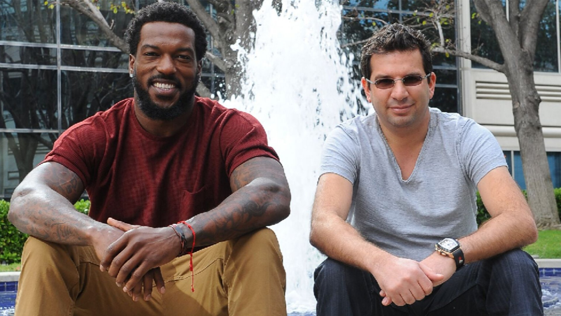 Patrick Willis, formerly of the San Francisco 49ers, and Eren Niazi.