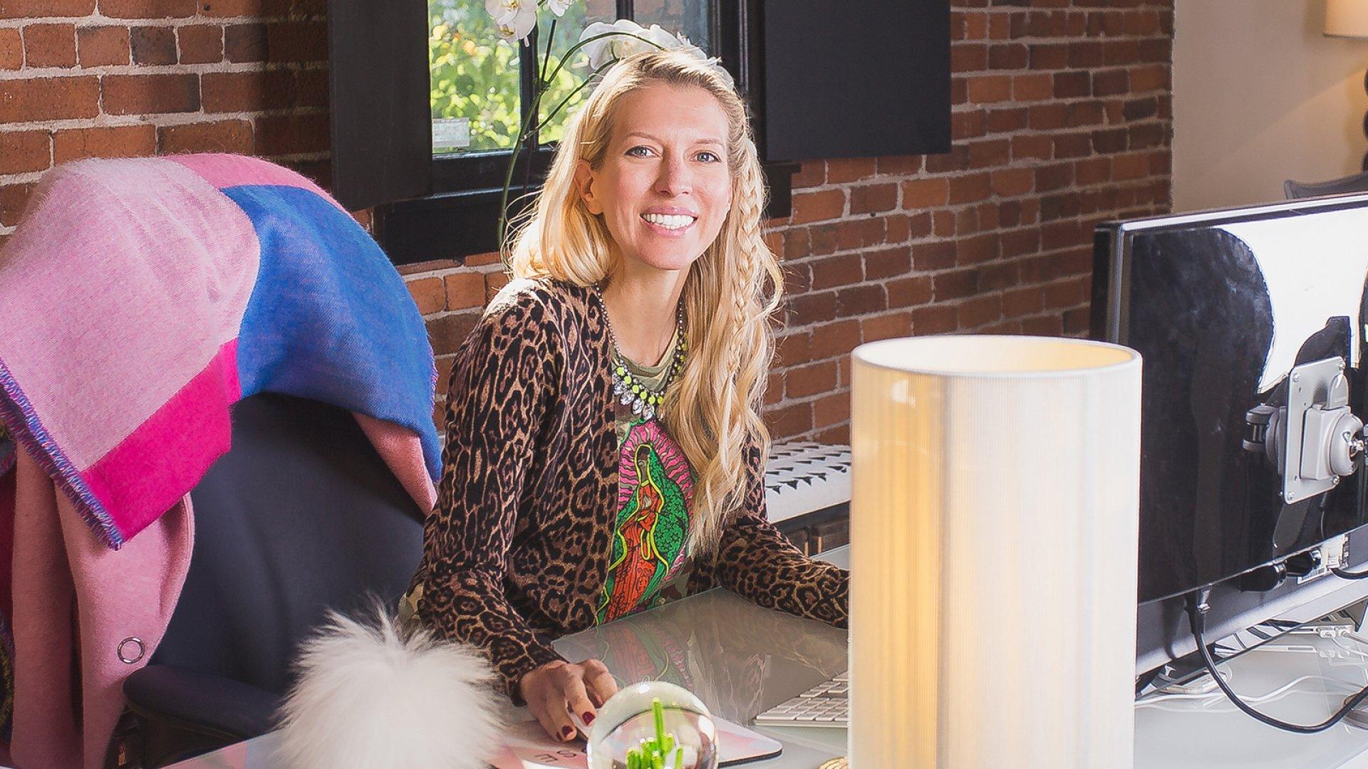 Pinrose Co-Founder Erika Shumate.
