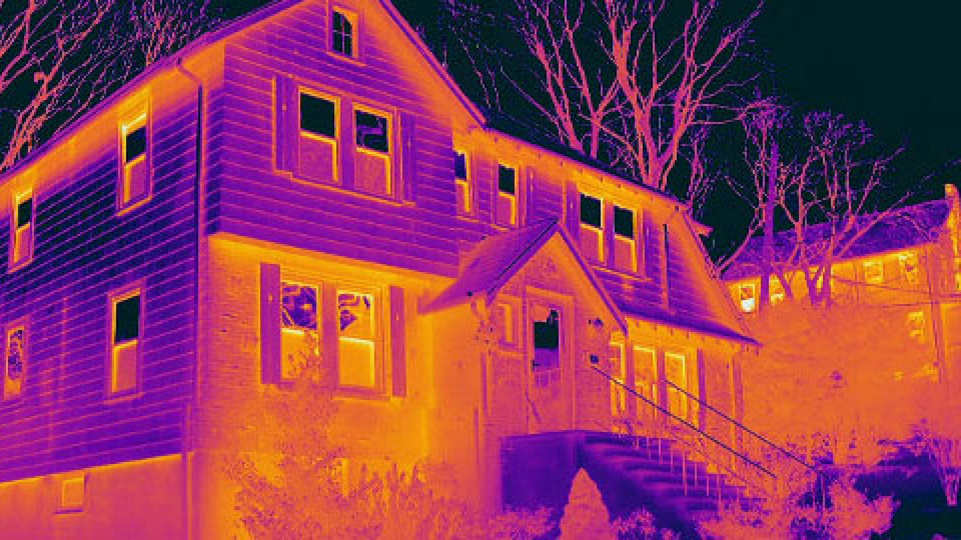 Essess, a Boston-based start-up, analyzes a building's energy efficiency performance with thermal heat maps.