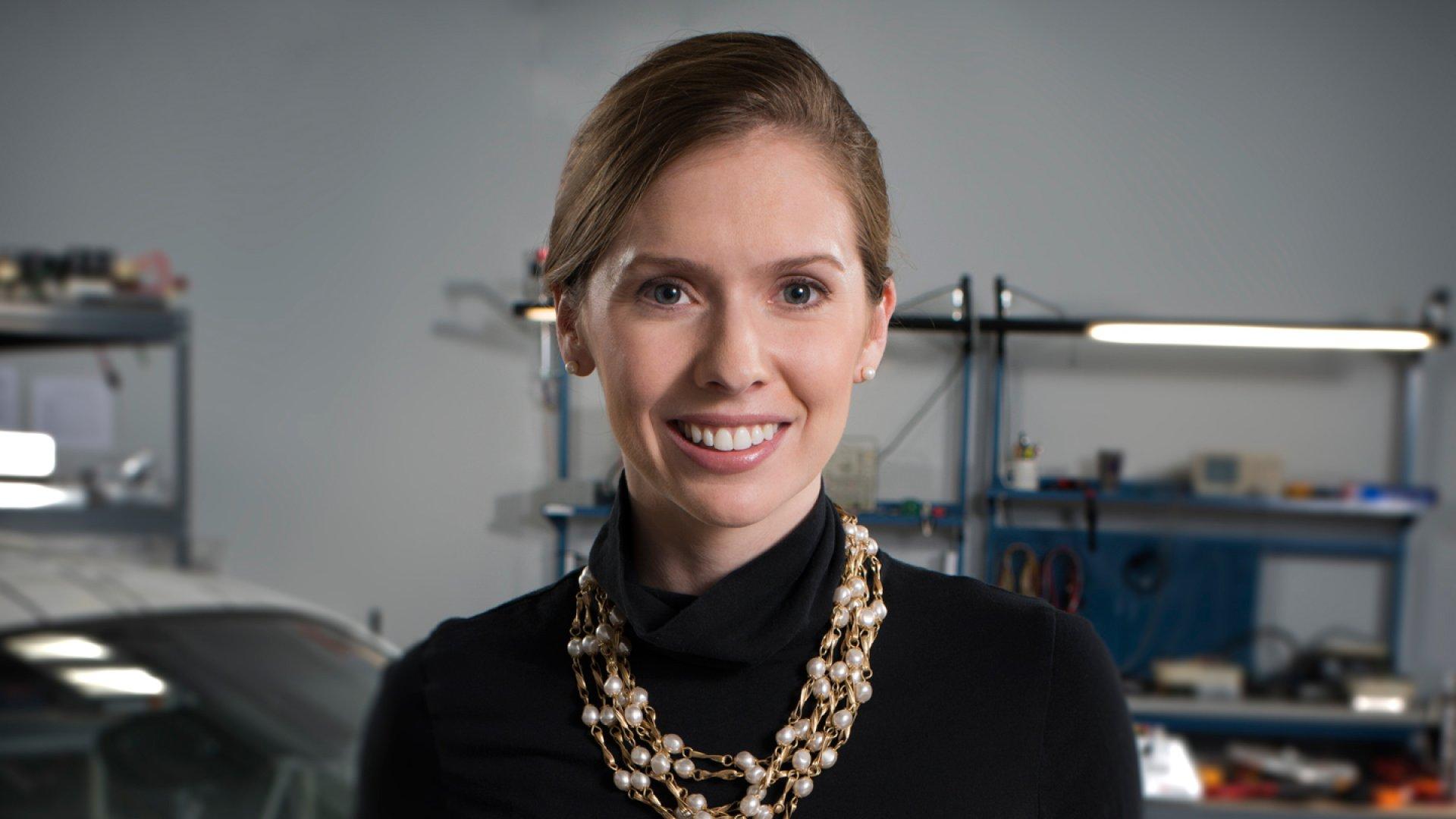 Evatran founder Rebecca Hough