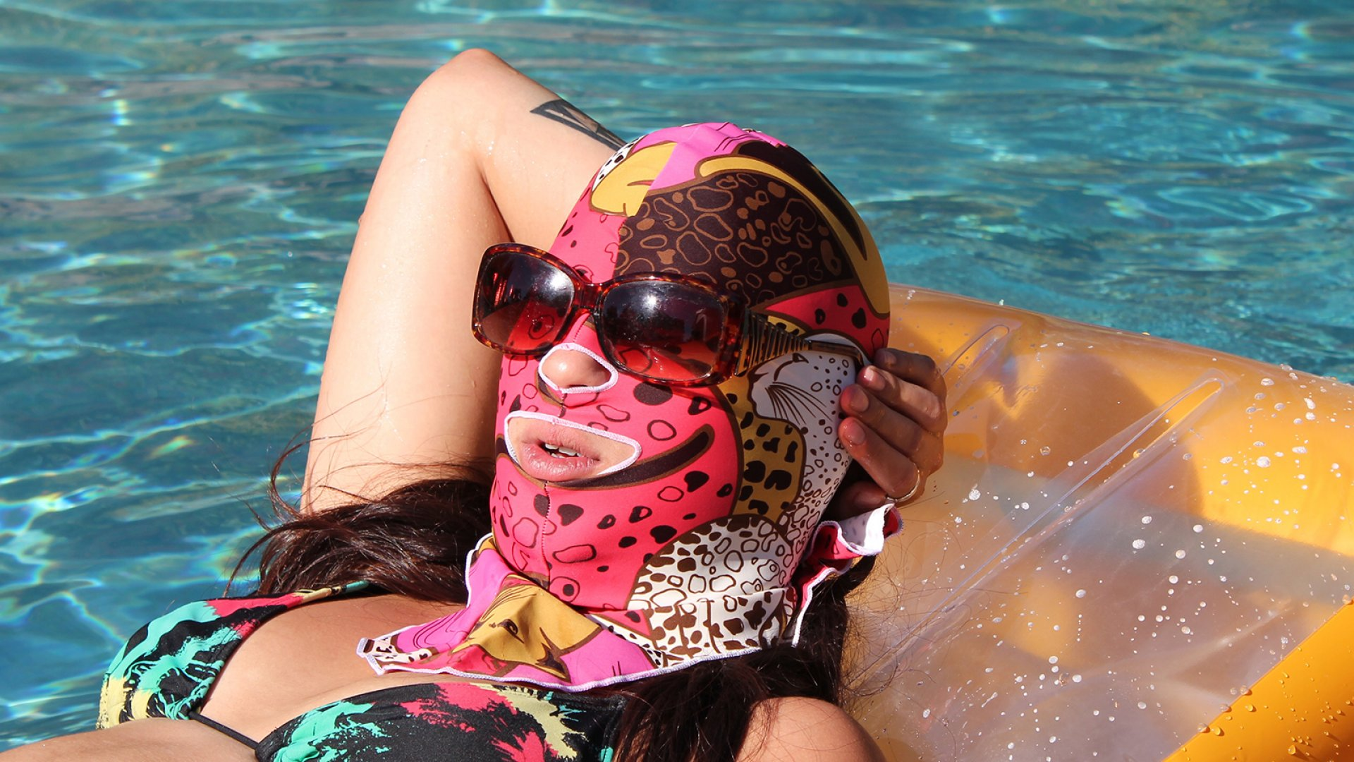 The facekini trend has swept through China, but the trademark was purchased in the United States in 2013 by Gregory delNero.