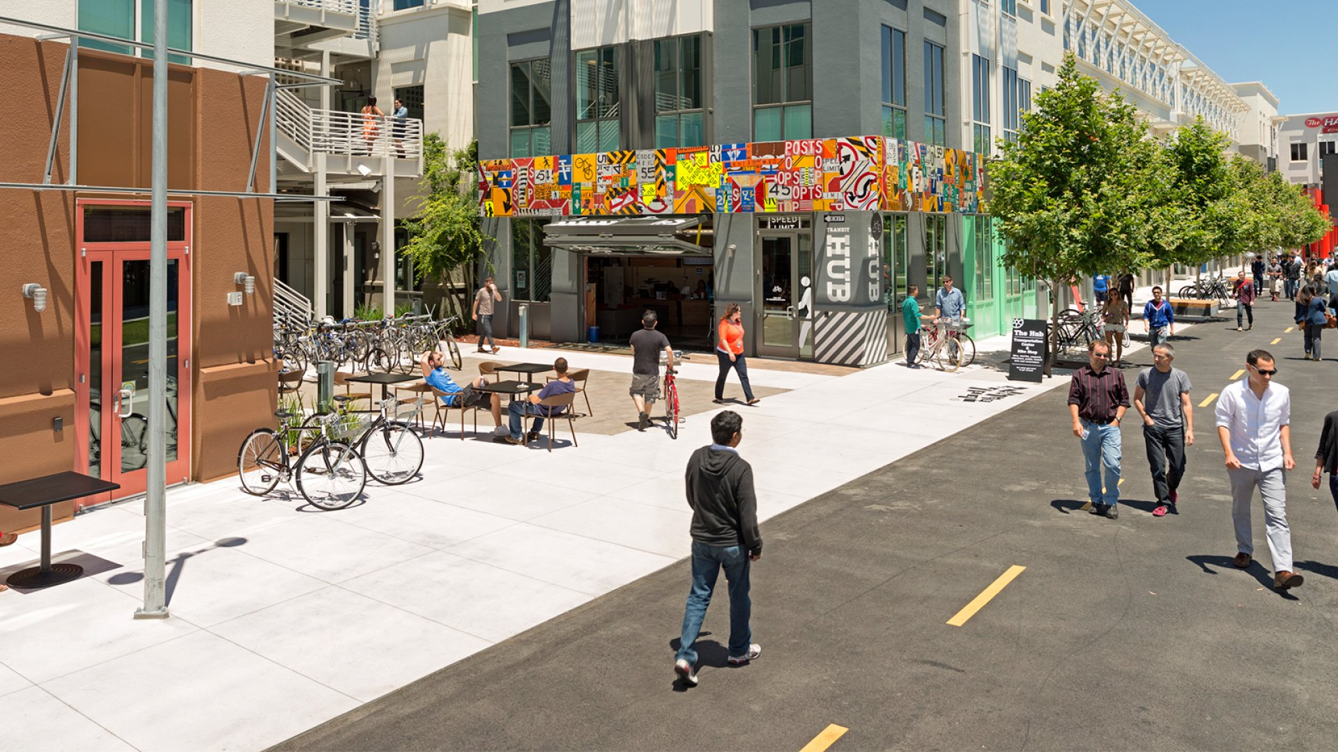 Facebook's Menlo Park, California headquarters.