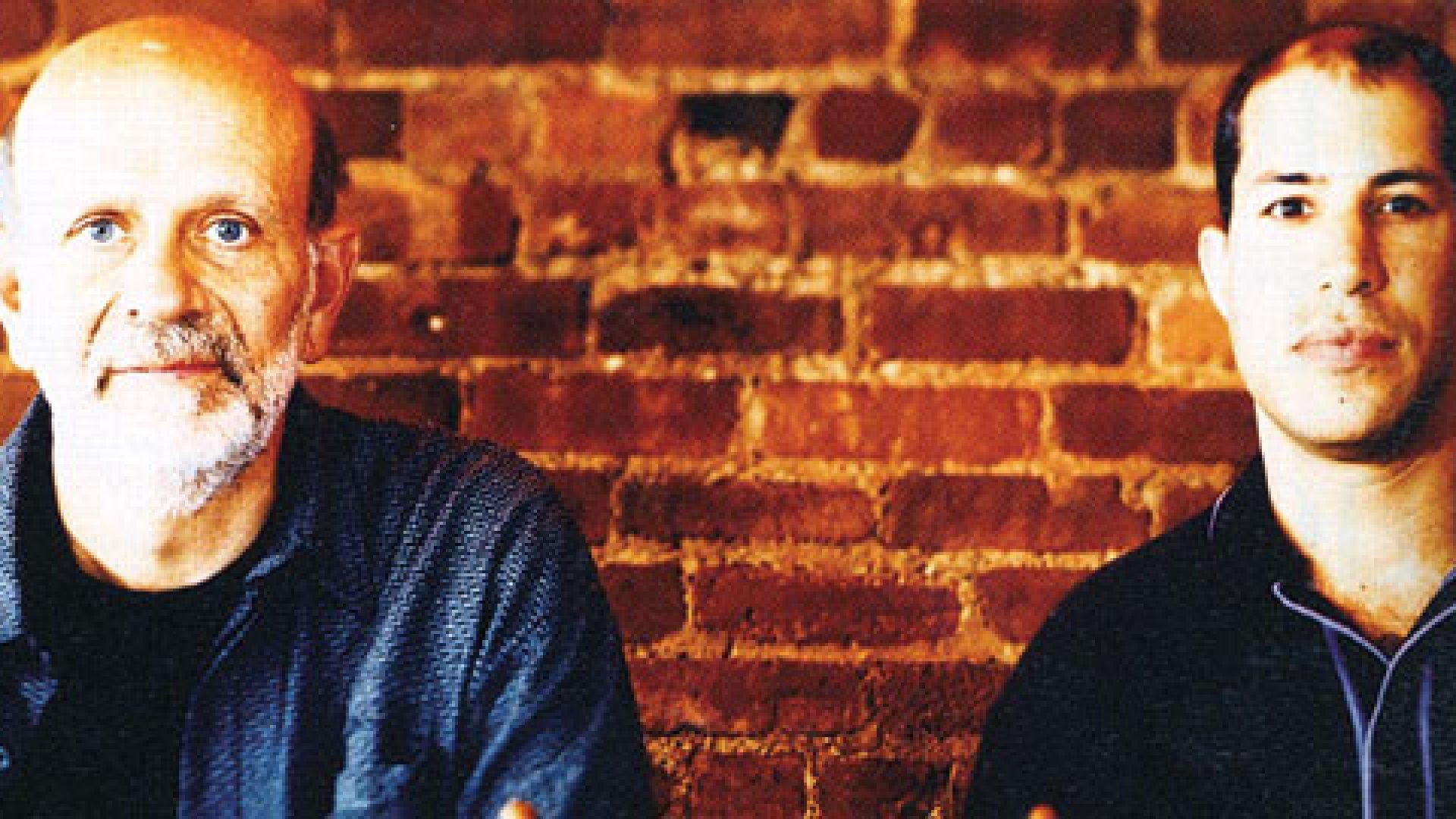 <strong>THE PARTNERS: </strong>Norm Brodsky (left) and David Schneider at Harvet Restaurant.