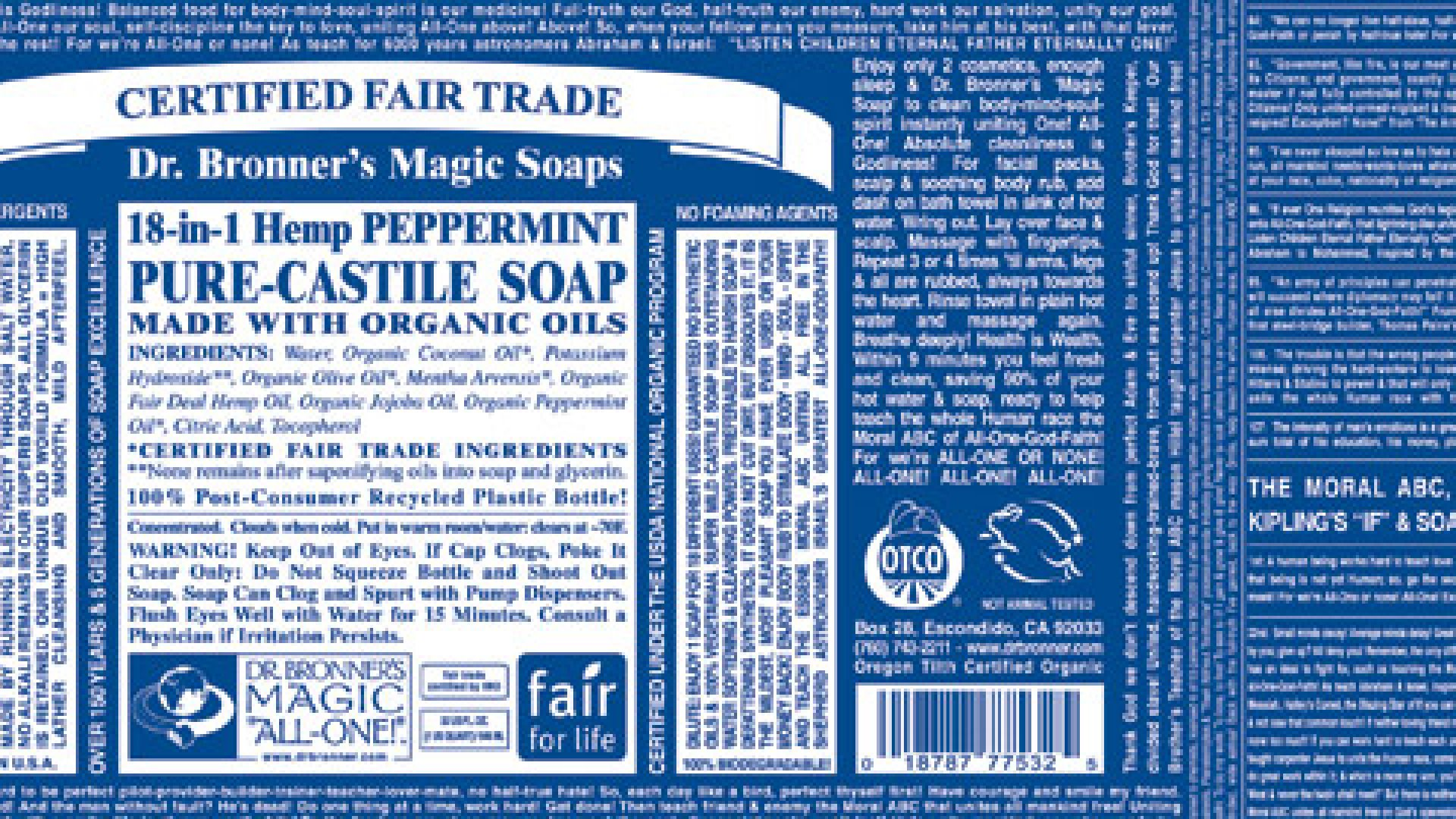 The Undiluted Genius of Dr. Bronner's