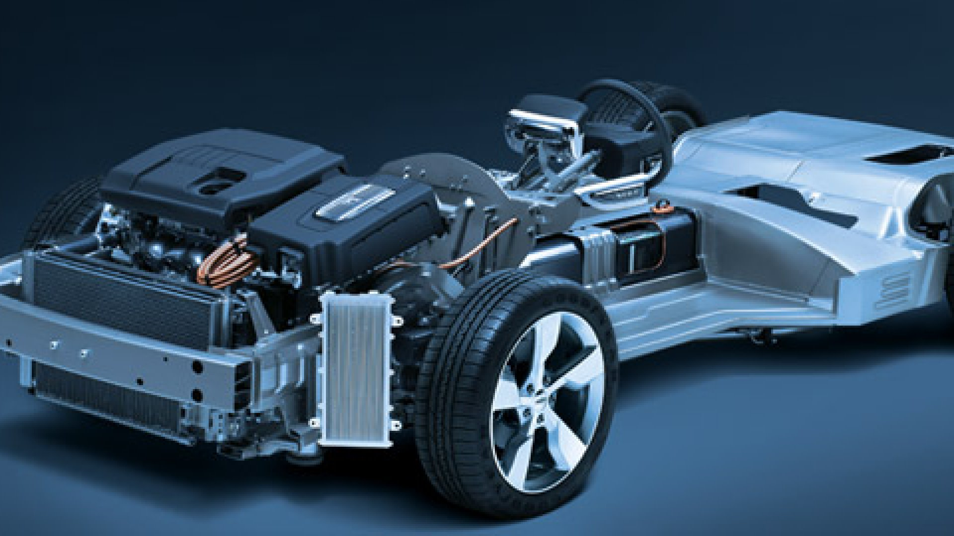 <strong>THE ULTIMATE MOBILE DEVICE</strong> Under its skin, the Chevy Volt, like other electric cars, will essentially be a piece of computer hardware on wheels.