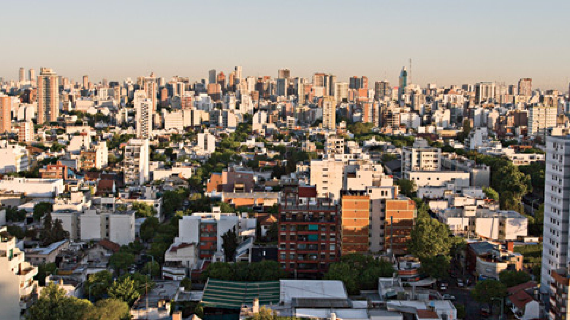 A view of Buenos Aires, Argentina