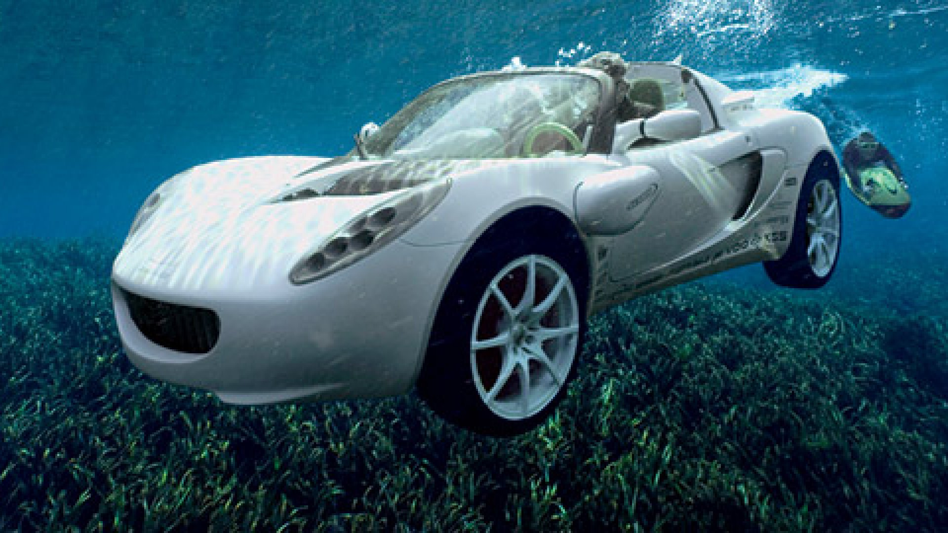 The underwater convertible James Bond uses to elude a Russian assassin in <em>The Spy Who Loved Me</em>