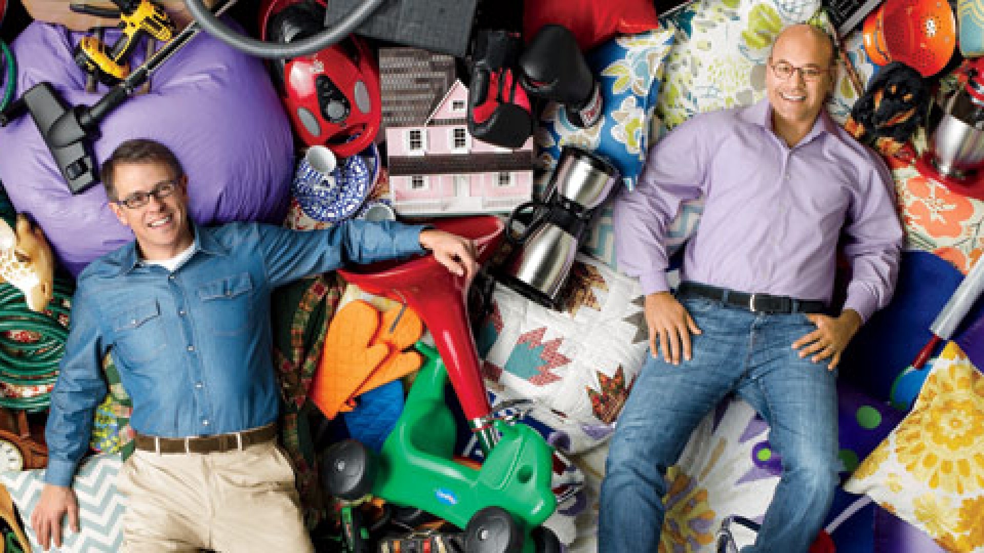 <b>You Want It? We Got It:</b> Wayfair founded by Steve Conine (left)and Niraj Shah, sells more than 4.5 million items. These are a few of them.