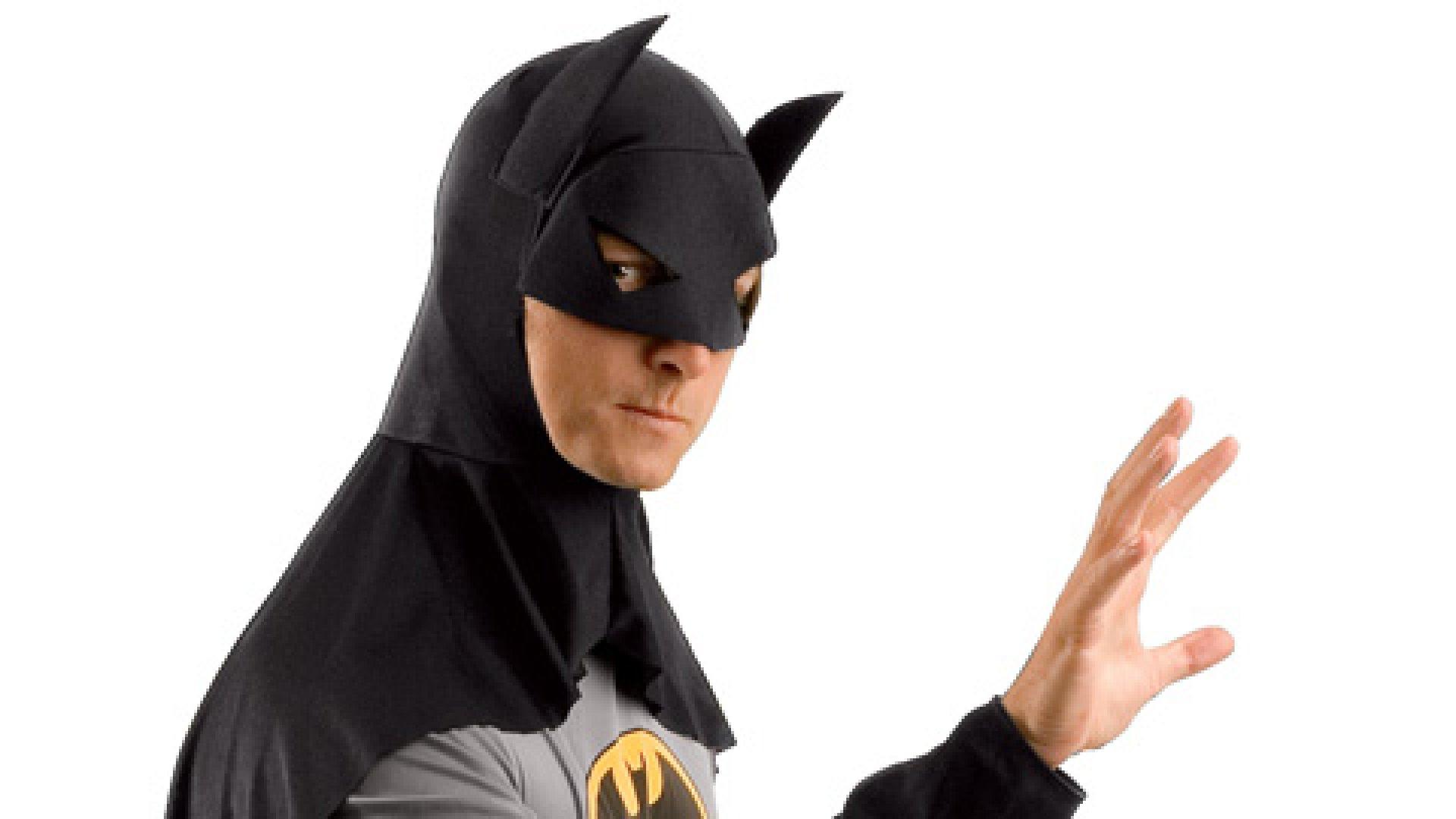 <strong>I'm Batman  </strong>Jonathan Bush, founder and CEO of Athenahealth