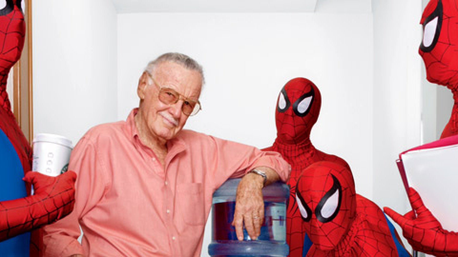 <strong>ANOTHER DAY AT THE OFFICE</strong> Stan Lee has spent seven decades focused on a single task: inventing superheroes.