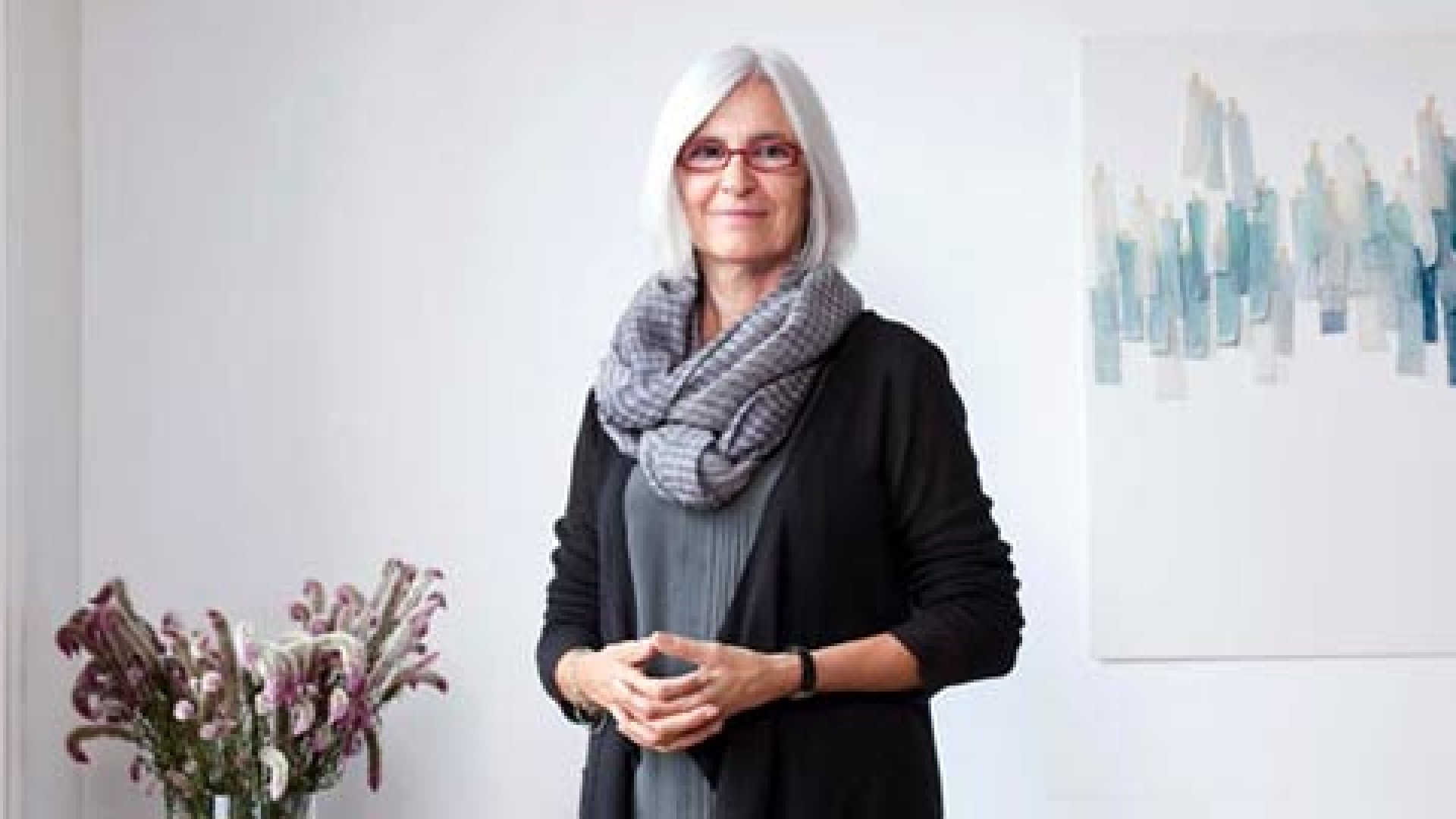 "<strong>Problem Solved</strong> ""I was an uncomfortable person, and so I wanted comfortable clothes,"" says Eileen Fisher."