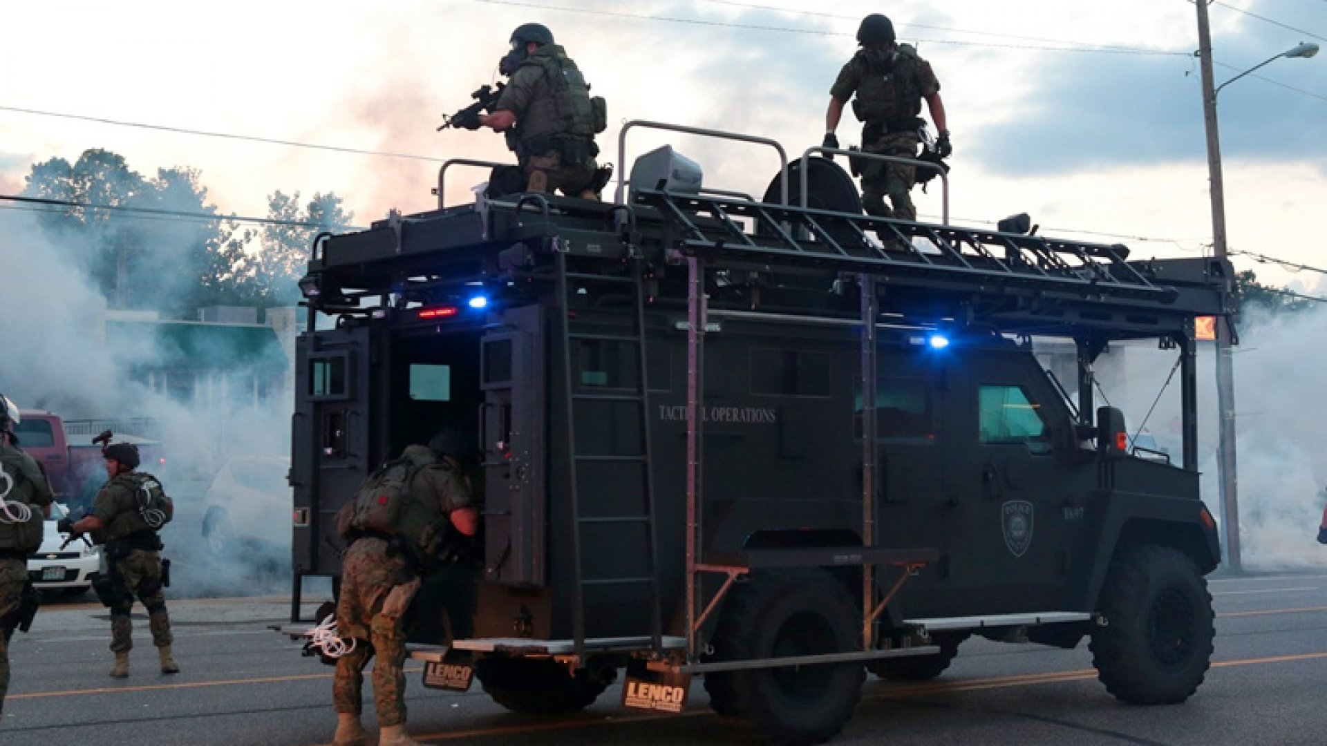 The Companies that Arm Police Look Ahead to Life After Ferguson