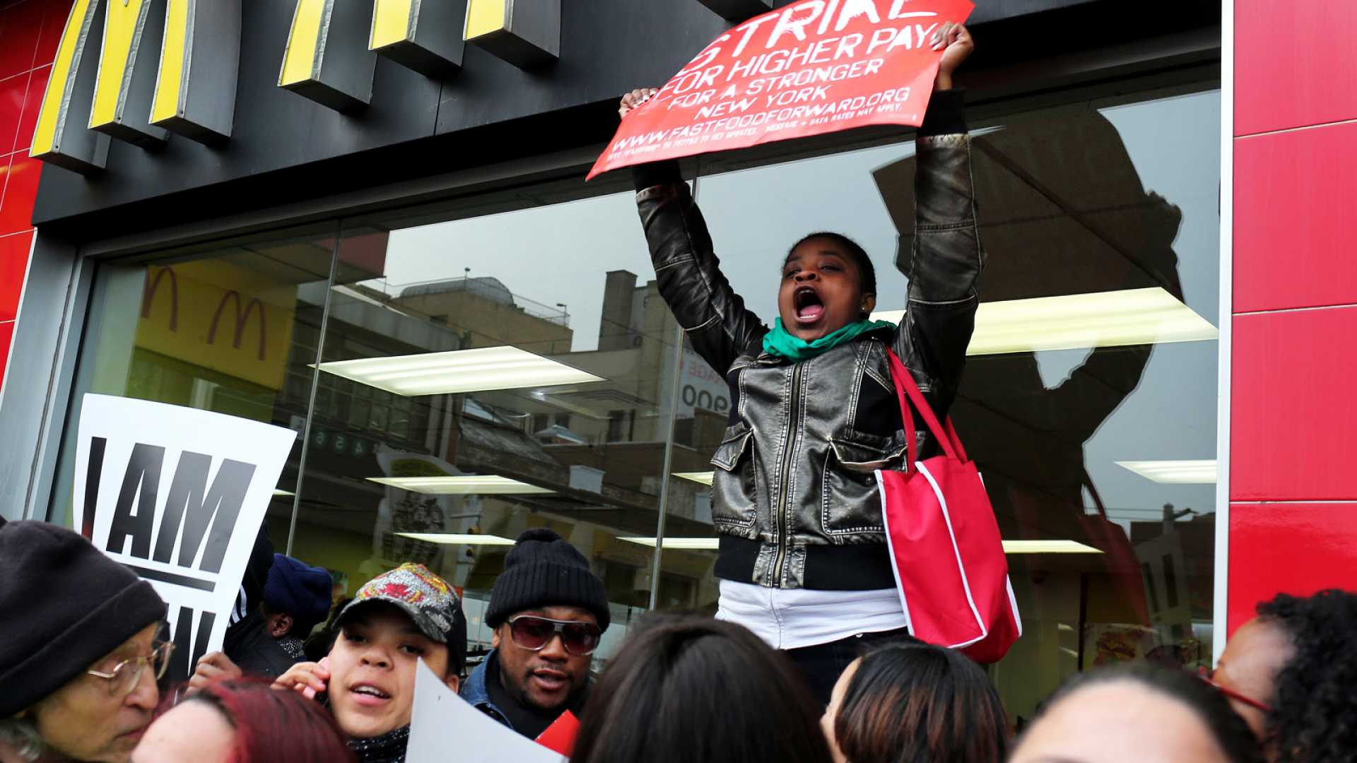 Fast Food Companies Are Screwed, but Not by Striking Workers