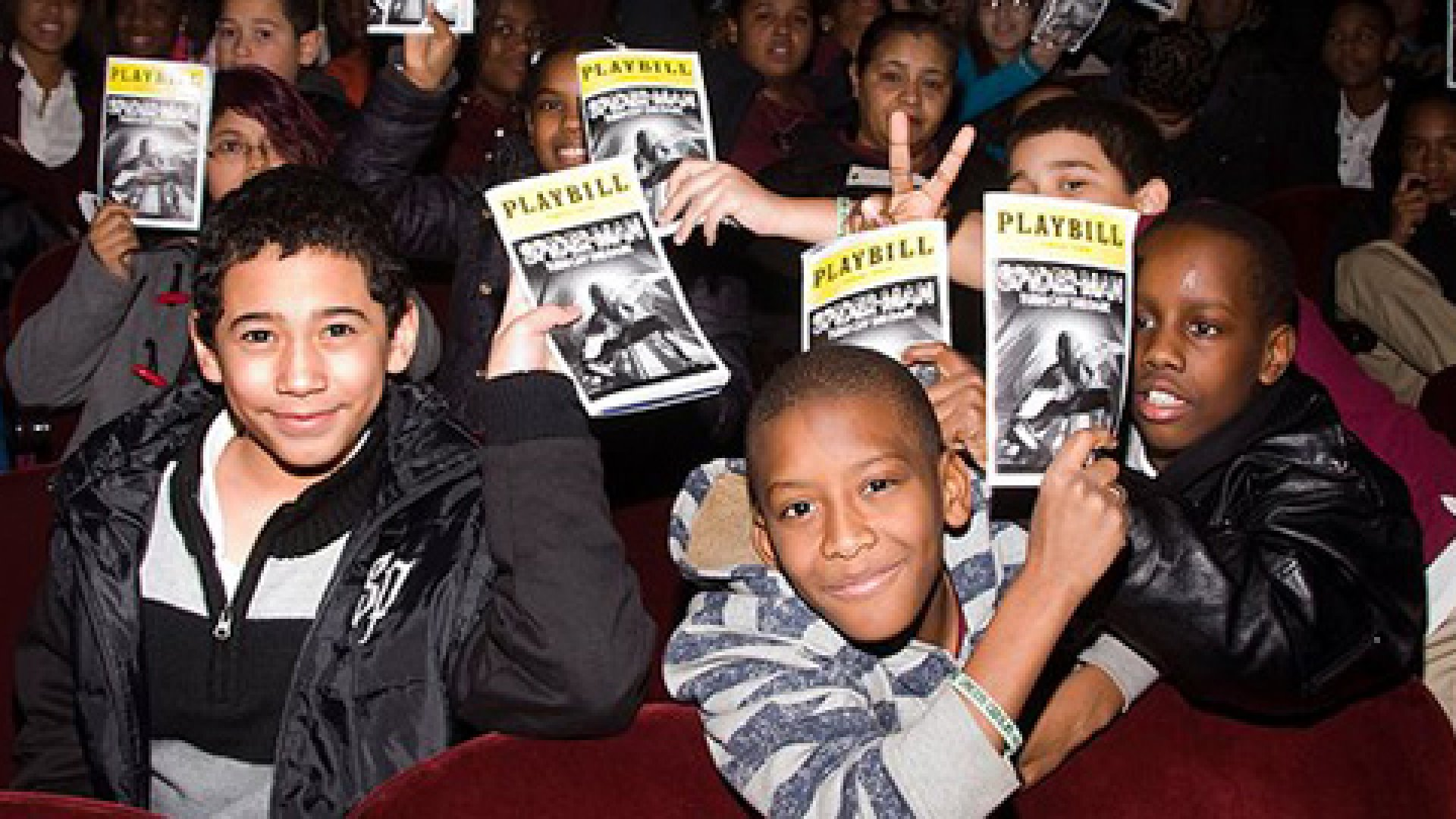 Situation Interactive brought South Bronx middle school students to see their first Broadway play.