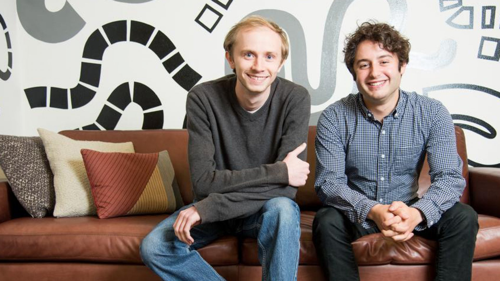 Figma co-founders Evan Wallace (left) and Dylan Field.