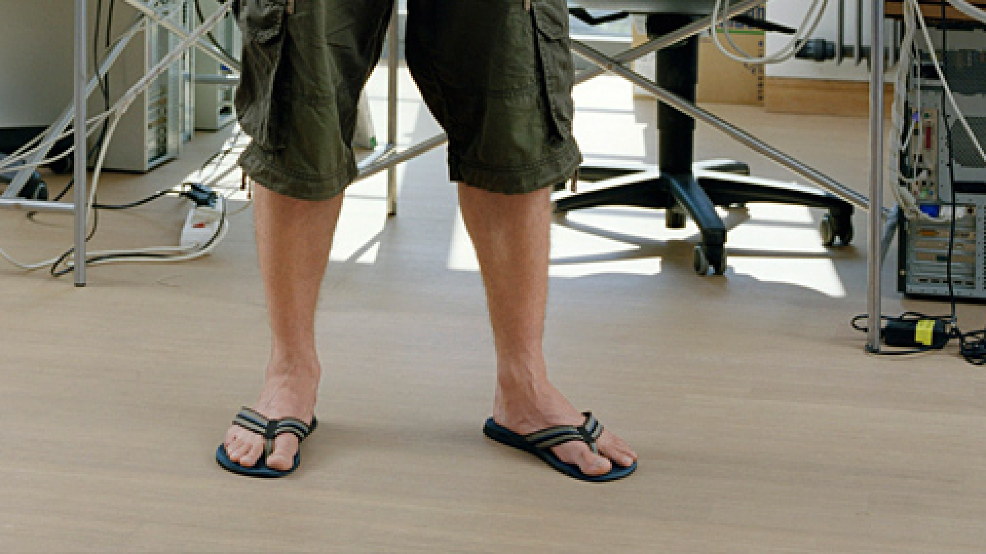 Flip flops or any other item or attitude may inspire your company culture.
