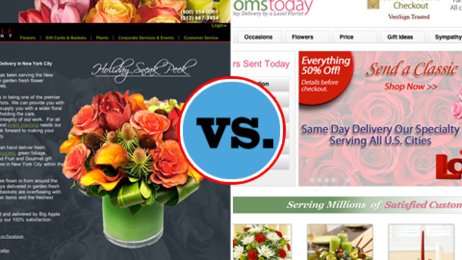 Big Apple Florist vs. Bloomstoday