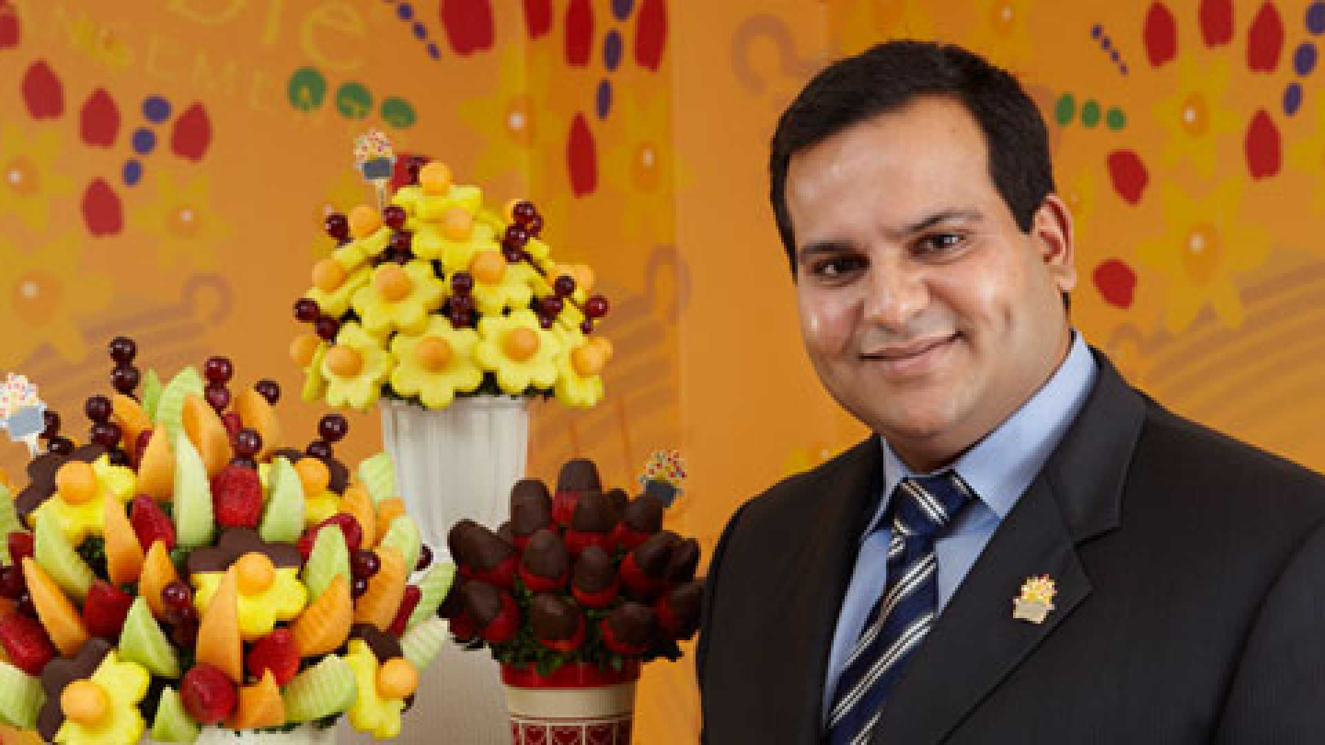 Edible Arrangements's co-founder and COO Kamran Farid talks about supply chain challenges and solutions as the company continues to expand overseas.