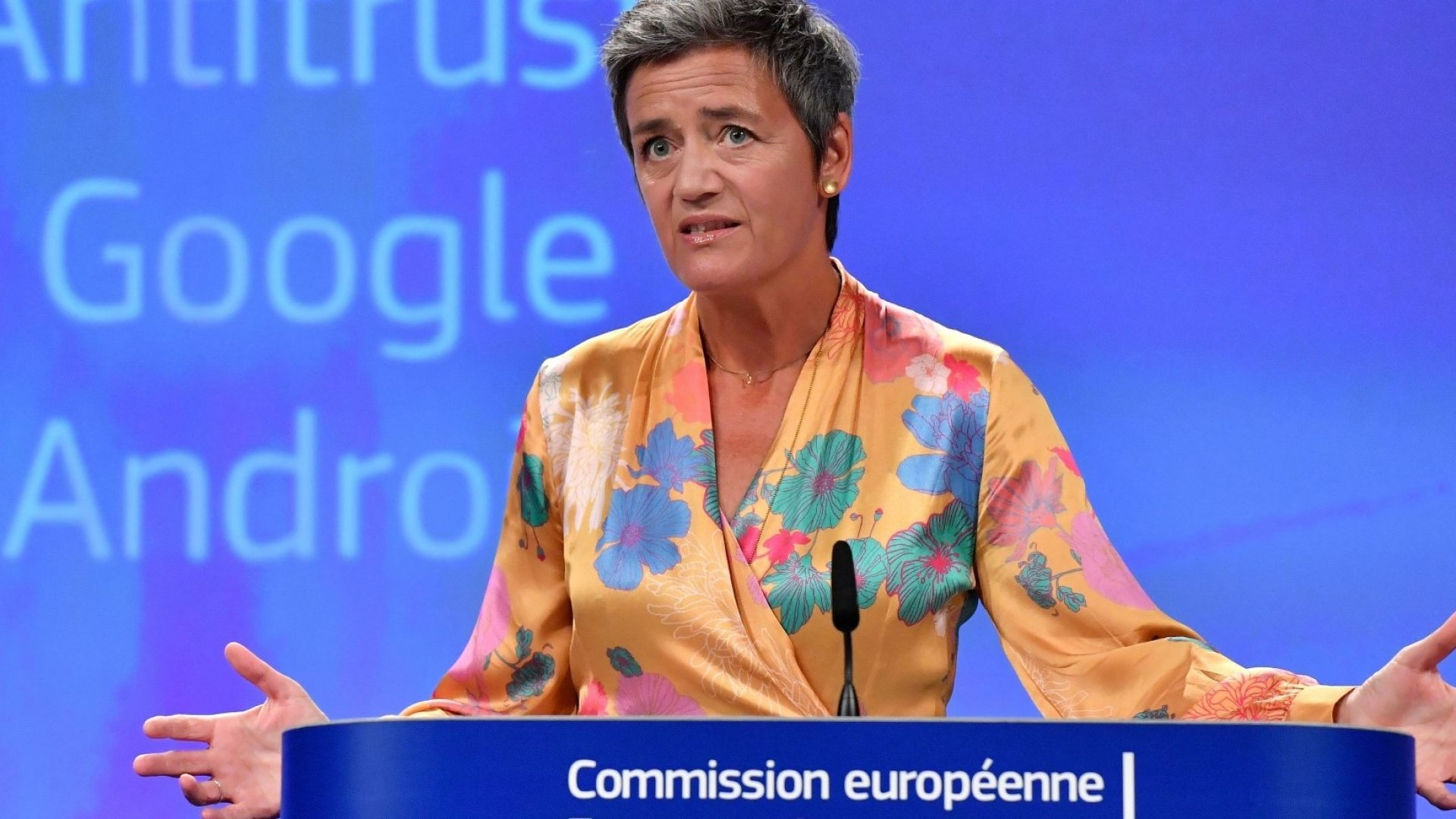 Google Was Fined $1.7 Billion for Ad Practices Violating European Antitrust Laws