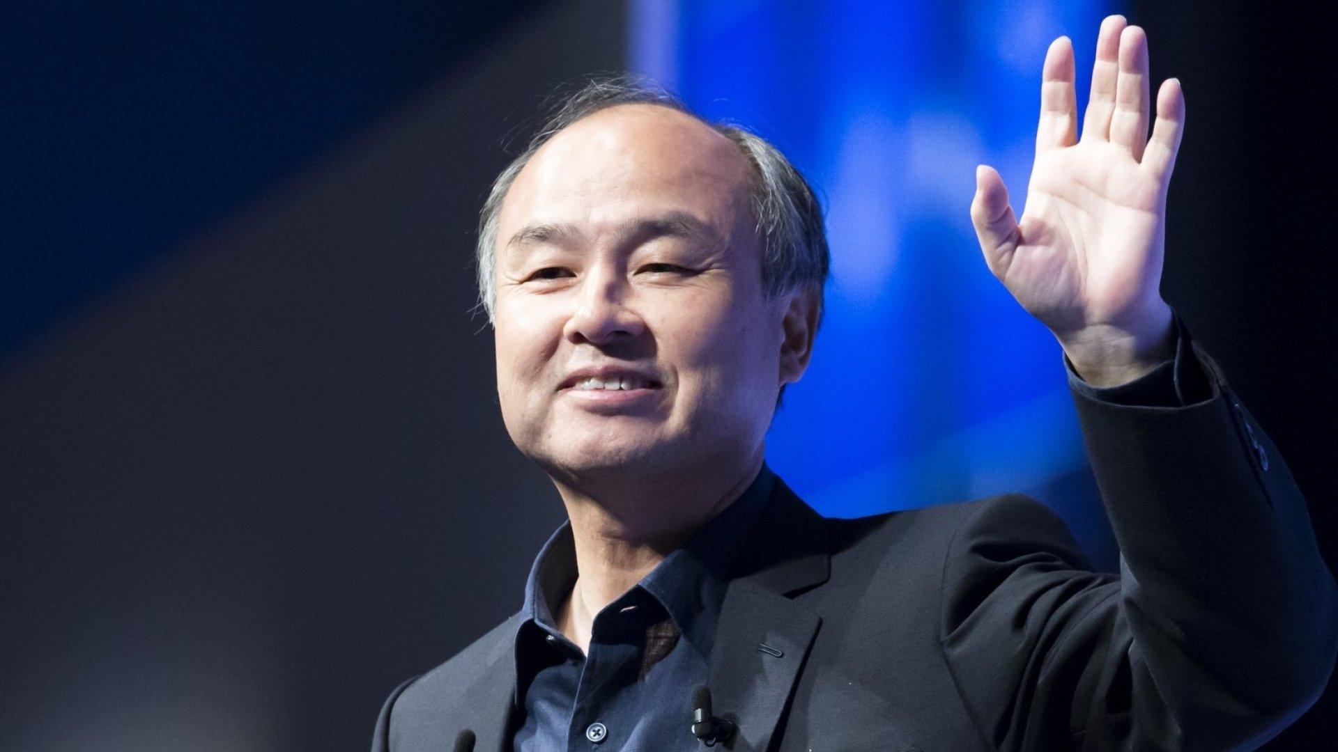 SoftBank Chairman and founder Masayoshi Son.