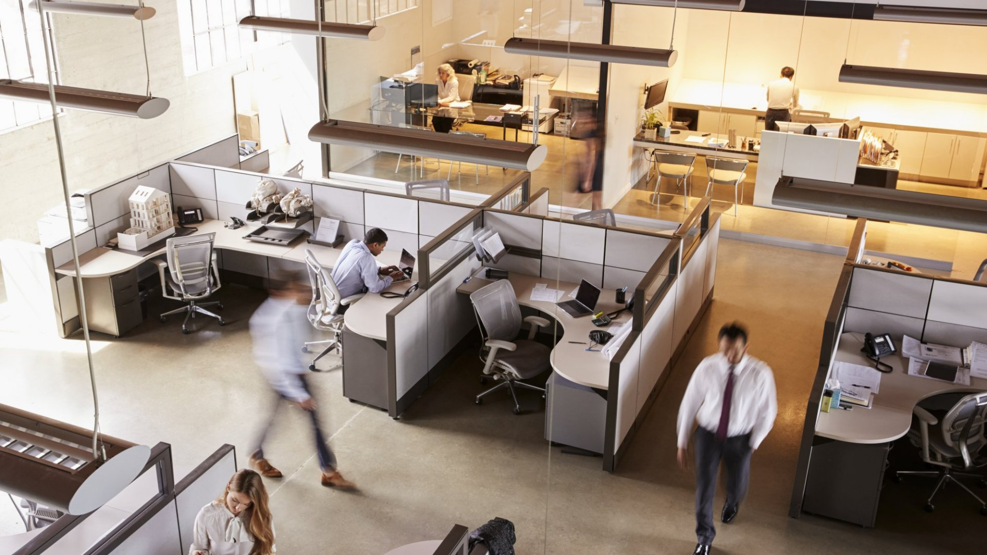 Here's How Your Office Design Affects Your Job Satisfaction | Inc.com