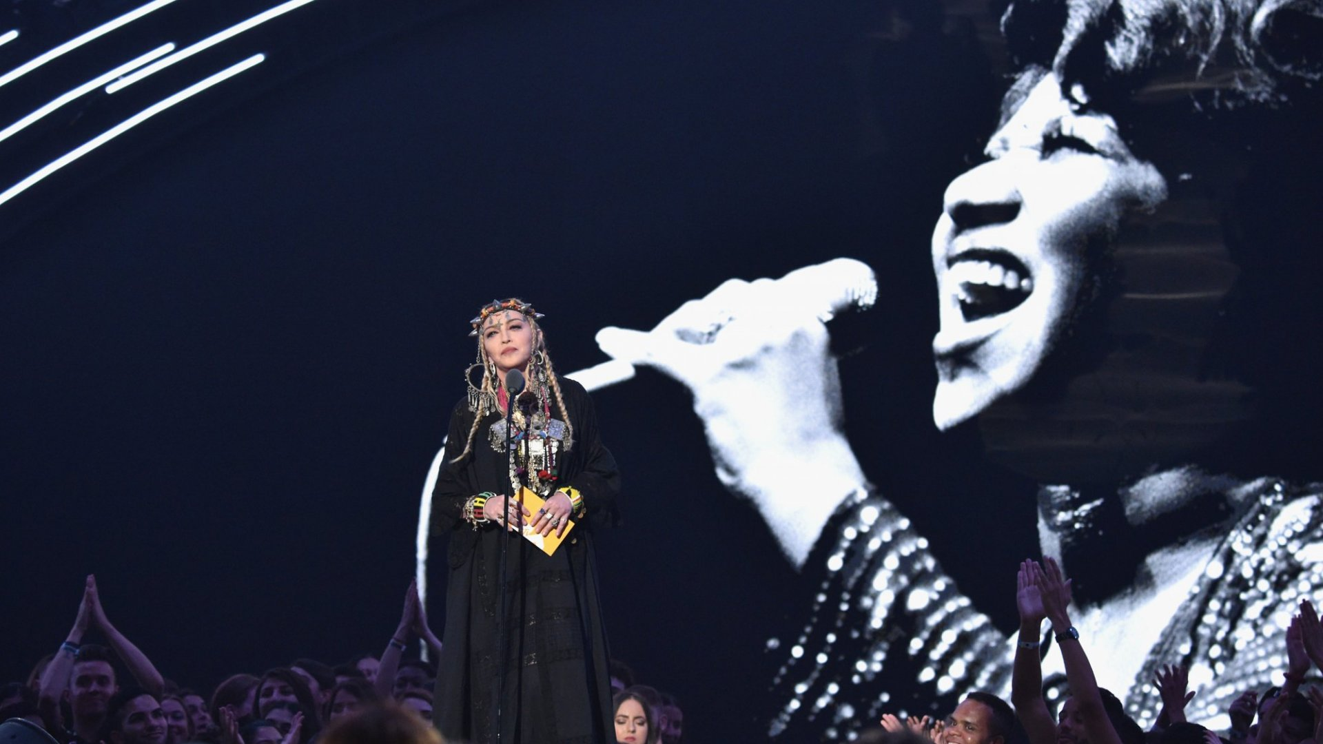 Madonna's 'Tribute' to Aretha Franklin: A Short Lesson in How to Give a Truly Terrible Speech