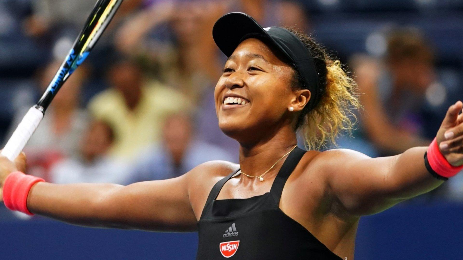 2018 US Open winner Naomi Osaka.