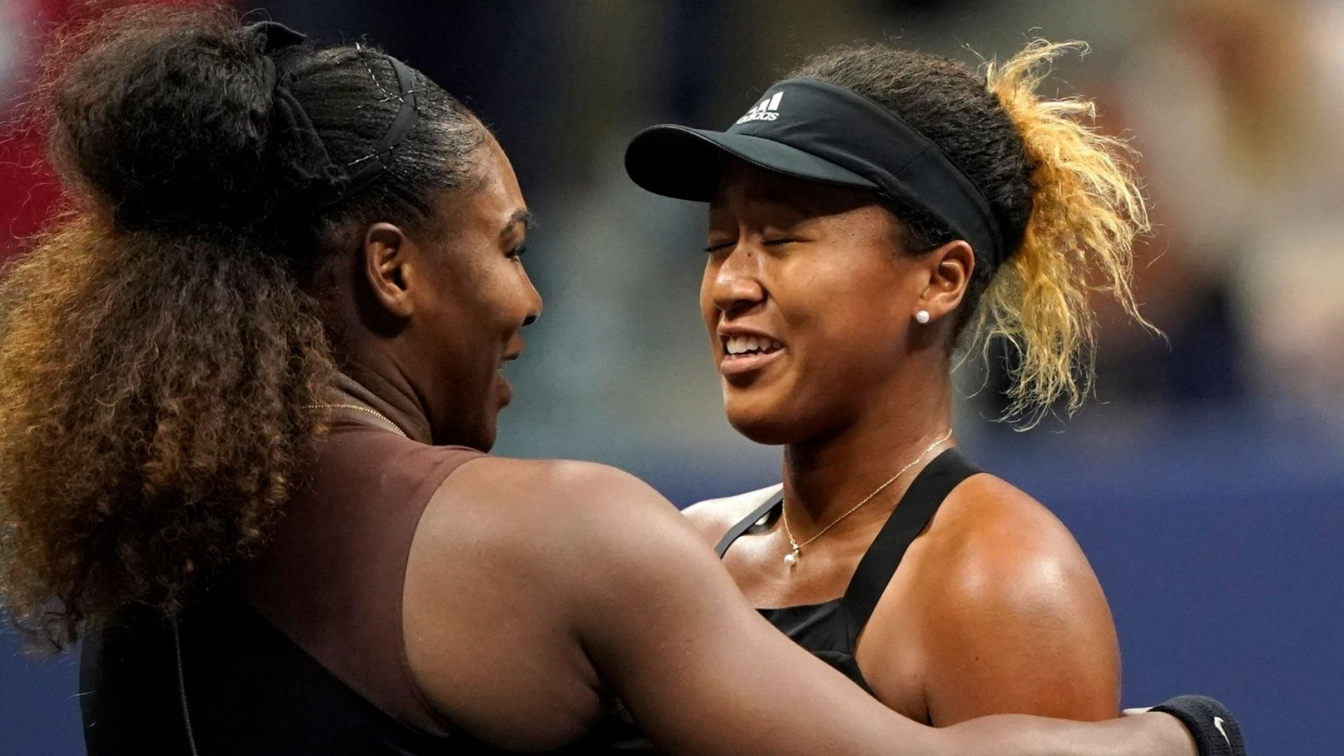 Serena Williams and Naomi Osaka.