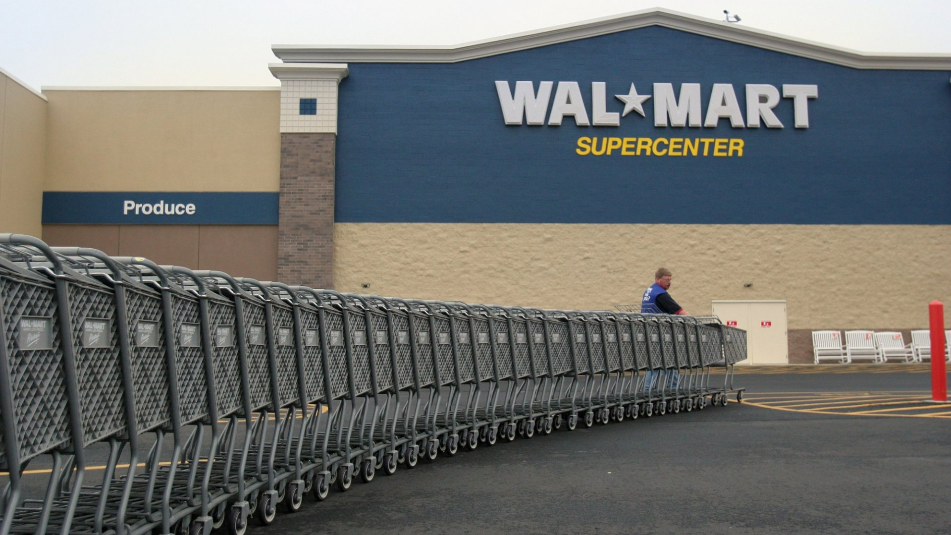 Walmart Just Filed for a Weird Patent. Shopping Carts May Never Be the Same