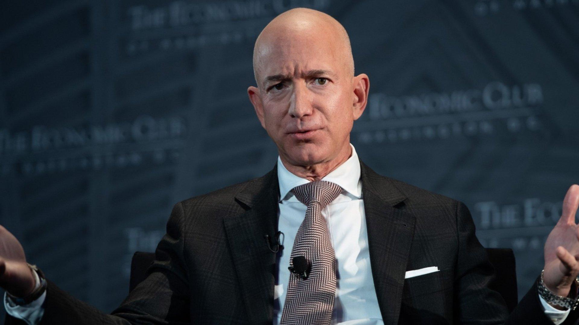 Report: Amazon's HQ2 Search Grew Out of Jeff Bezos's Tesla Envy