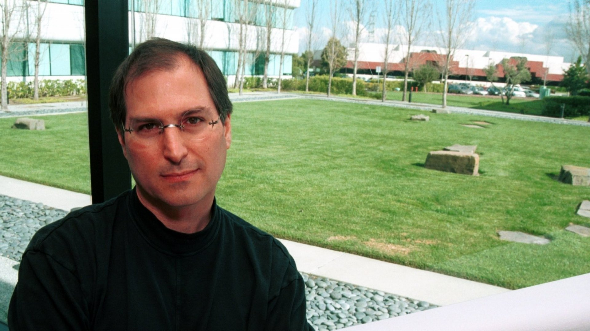 Former Apple Computers CEO Steve Jobs in 1996.