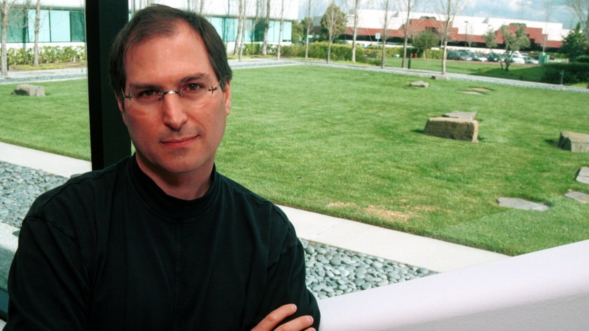 Steve Jobs, photographed in 1996.
