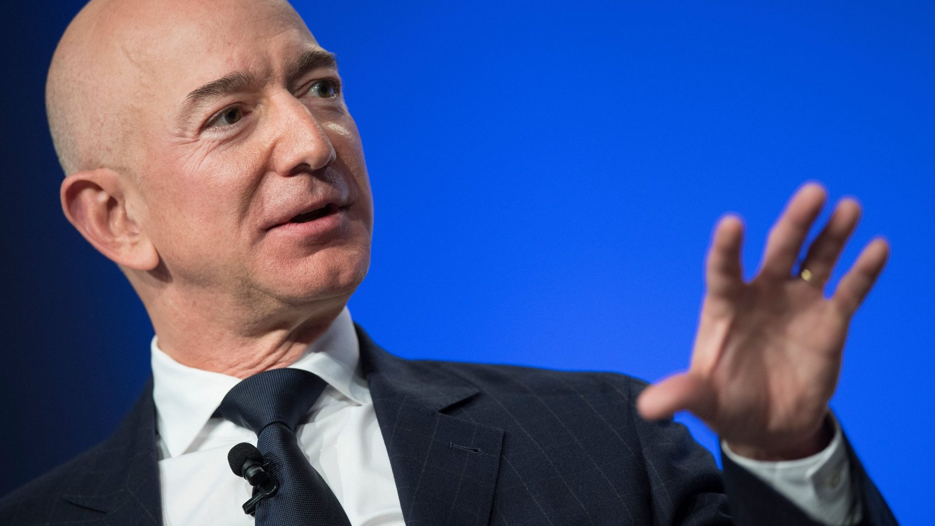 Jeff Bezos Just Compared Running a Business to Doing a Handstand, and His Analogy Is Pretty Accurate