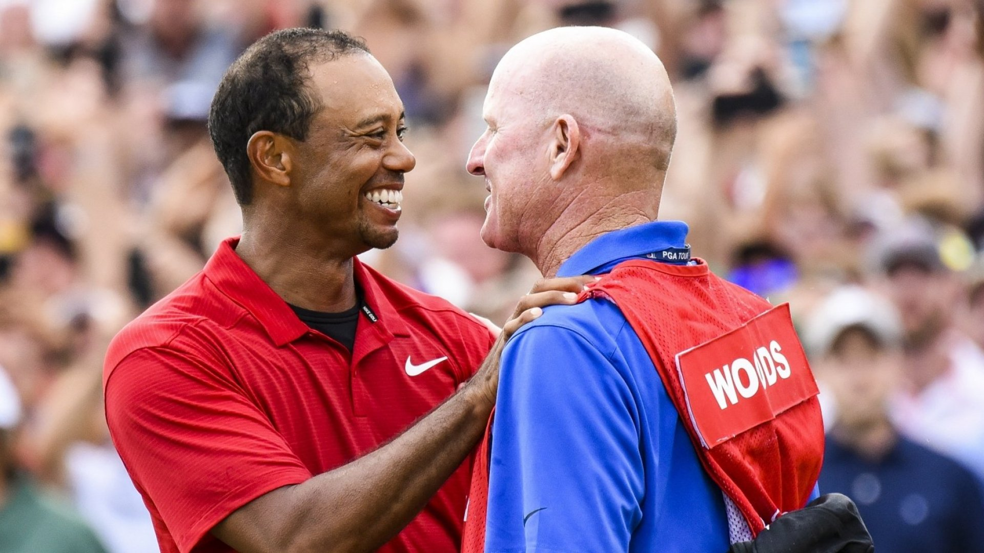Tiger Woods Got 3 Words of Advice From His Caddie During the Masters Yesterday--and They Were Absolute Genius