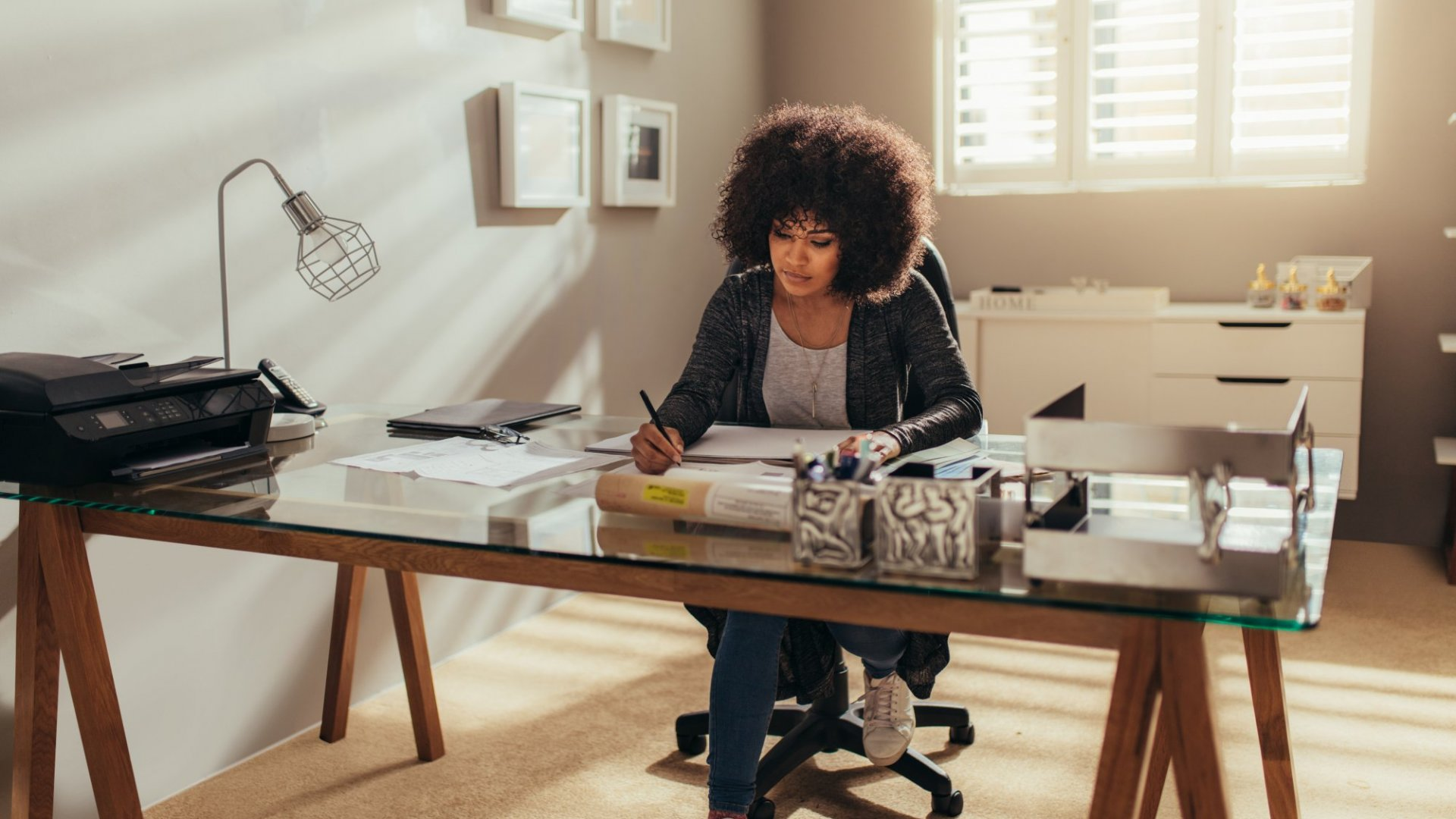 Companies can't just tell people to work from home -- they have to empower them to do so.