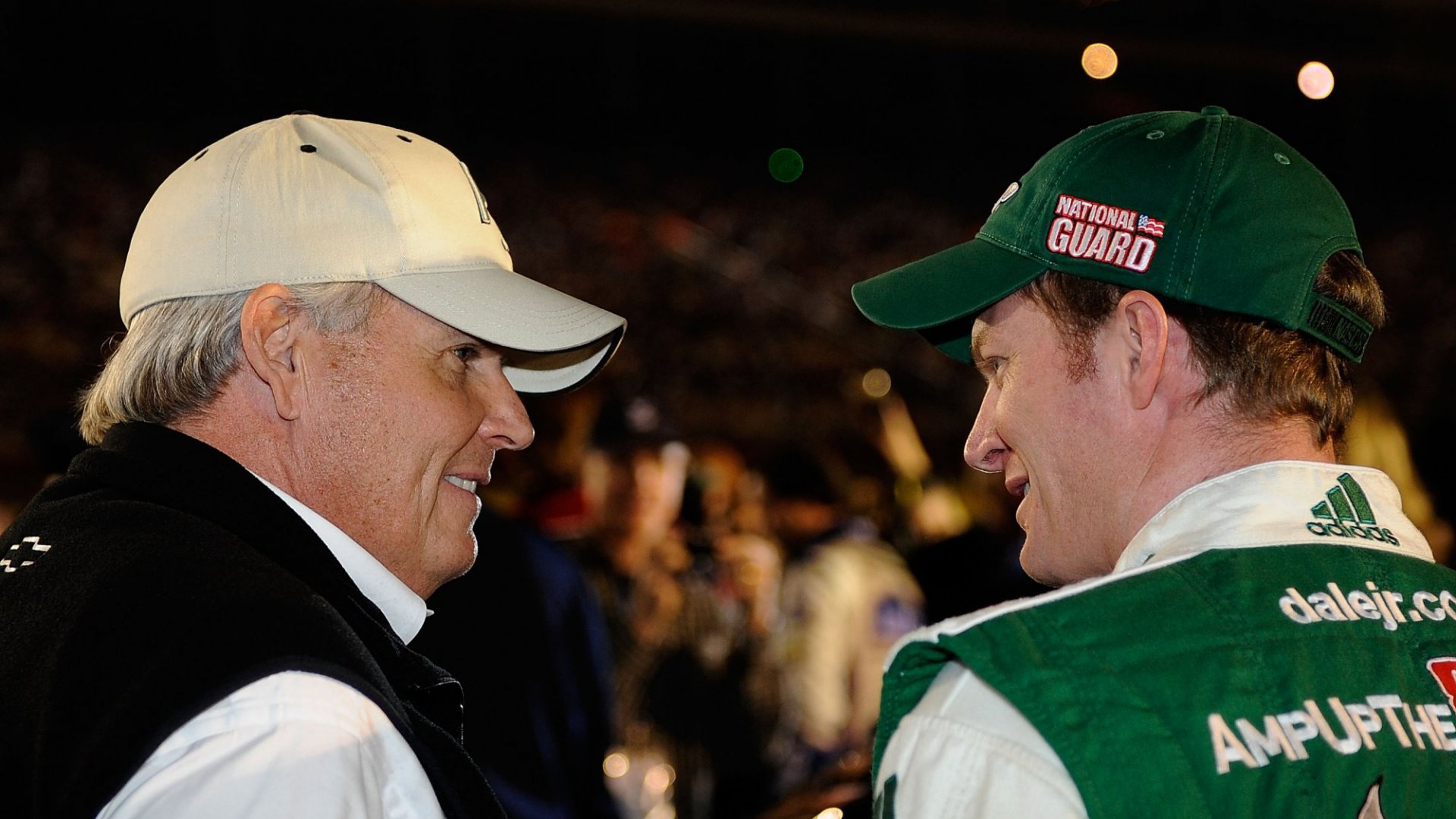 Rick Hendrick (left) with Dale Earnhardt Jr.