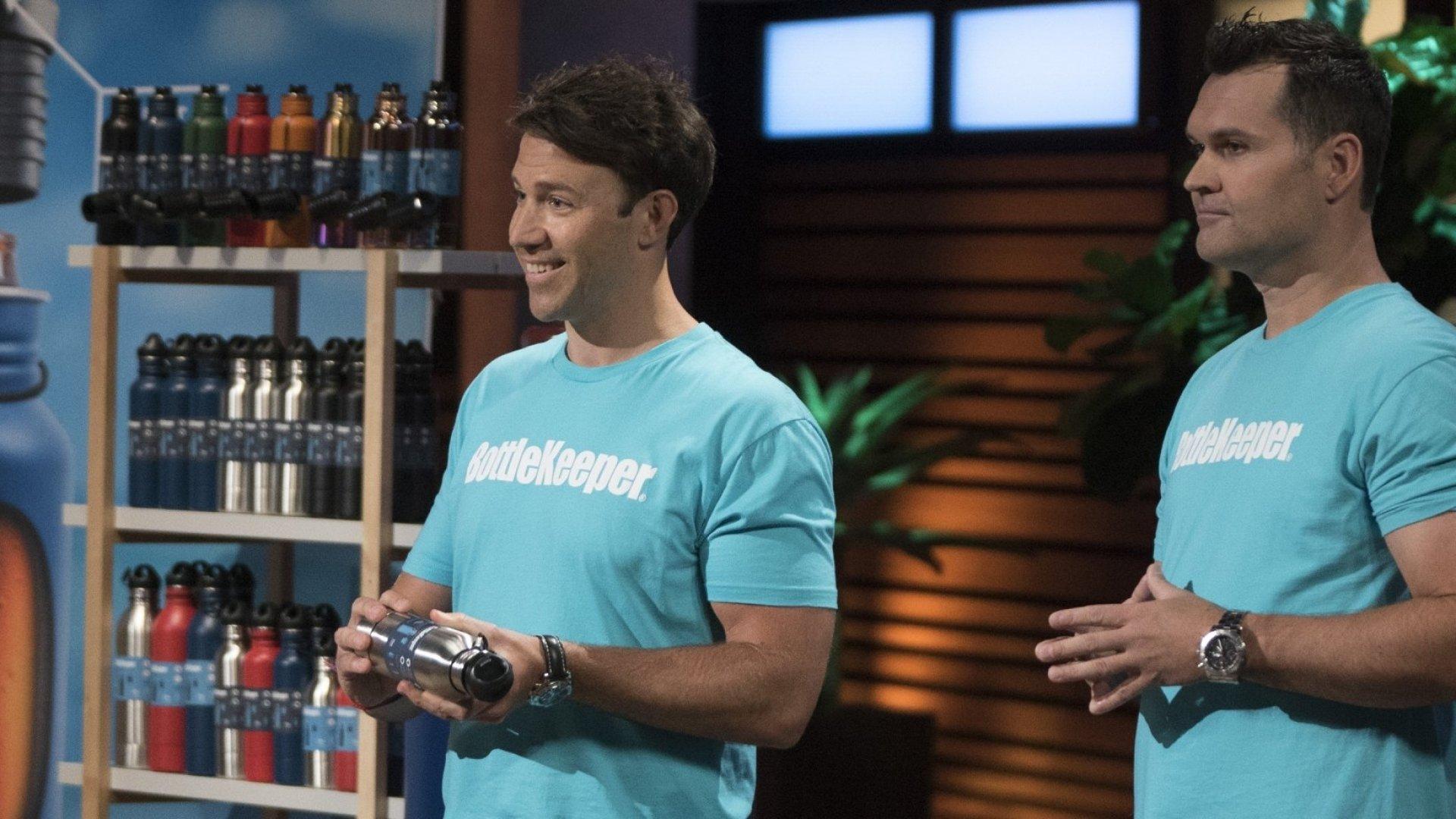 Adam Callinan and Matt Campbell, co-founders of BottleKeeper.
