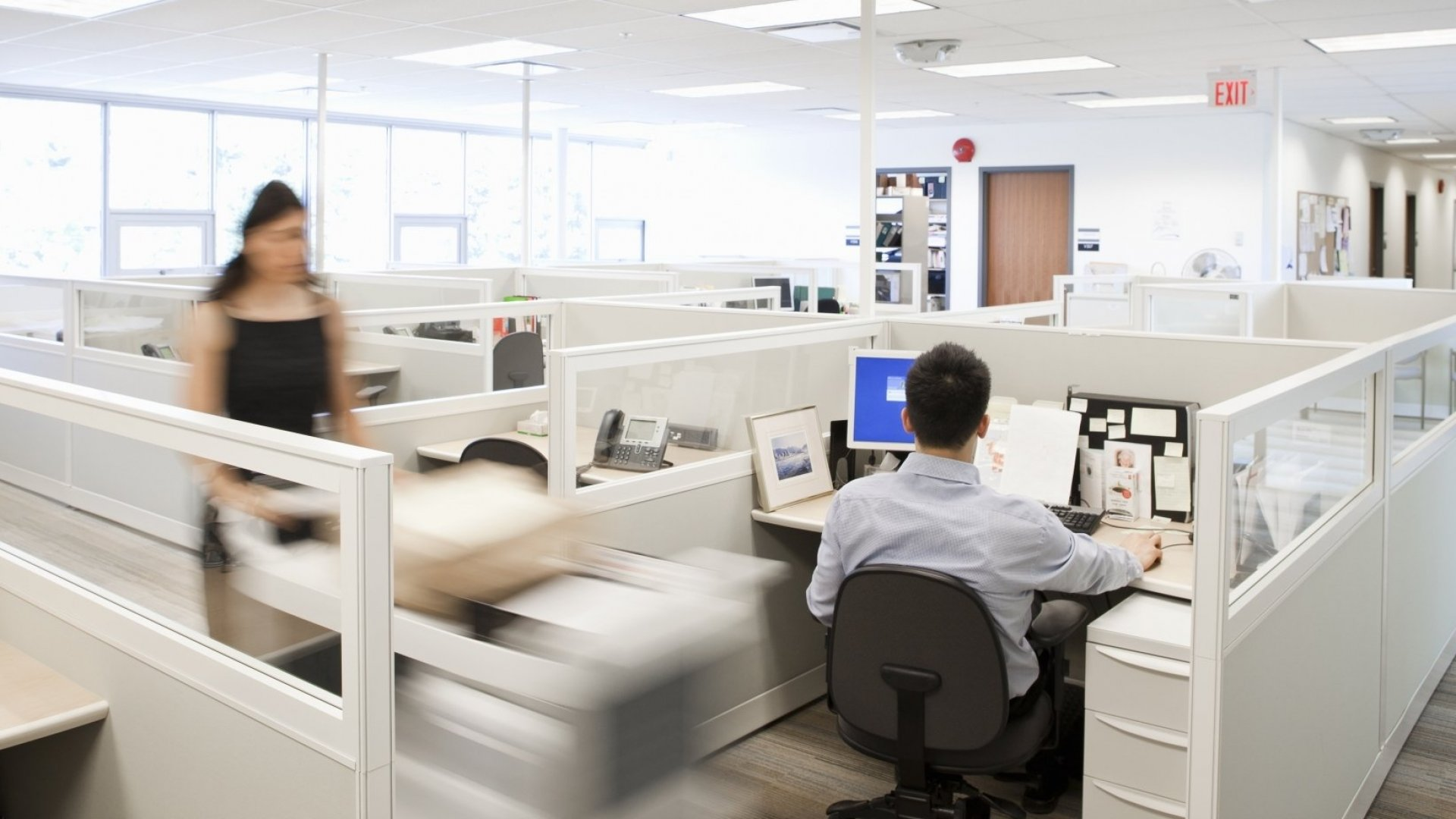 The Cubicle Was Actually Ahead of Its Time